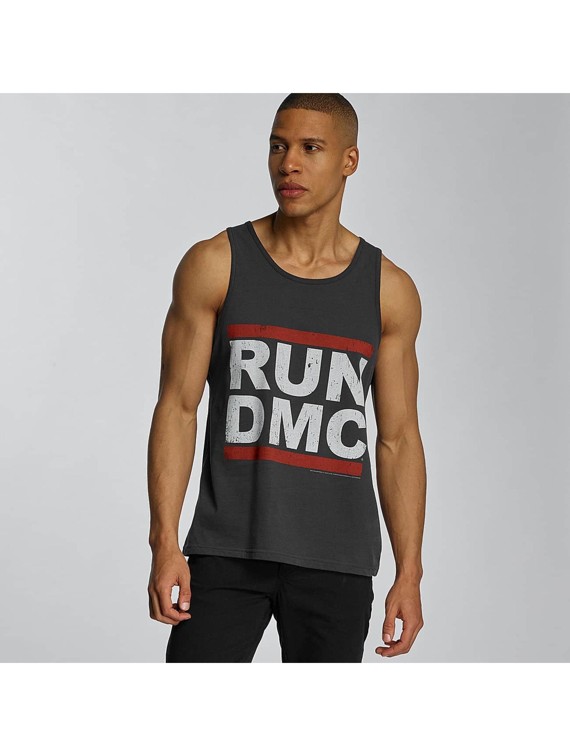 Amplified Tank Tops Run DMC Logo grå