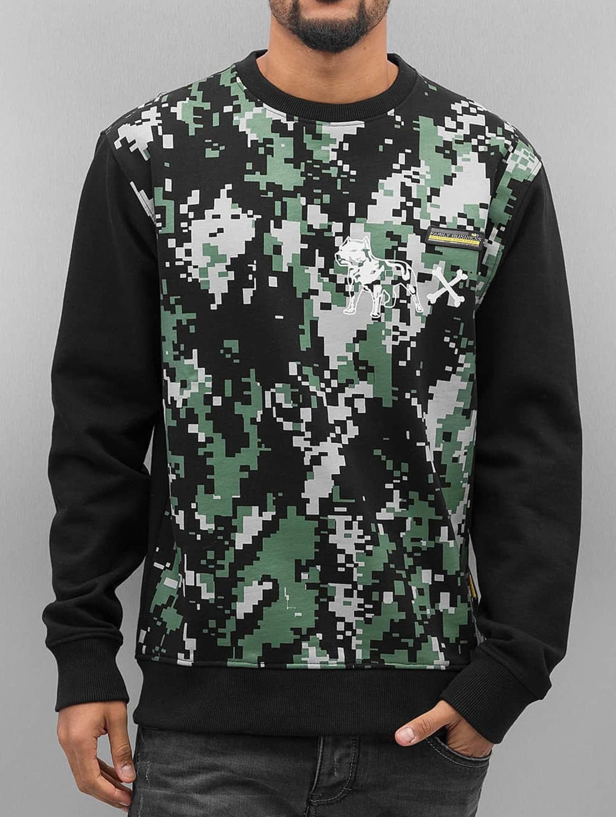 Amstaff Пуловер Kodor черный