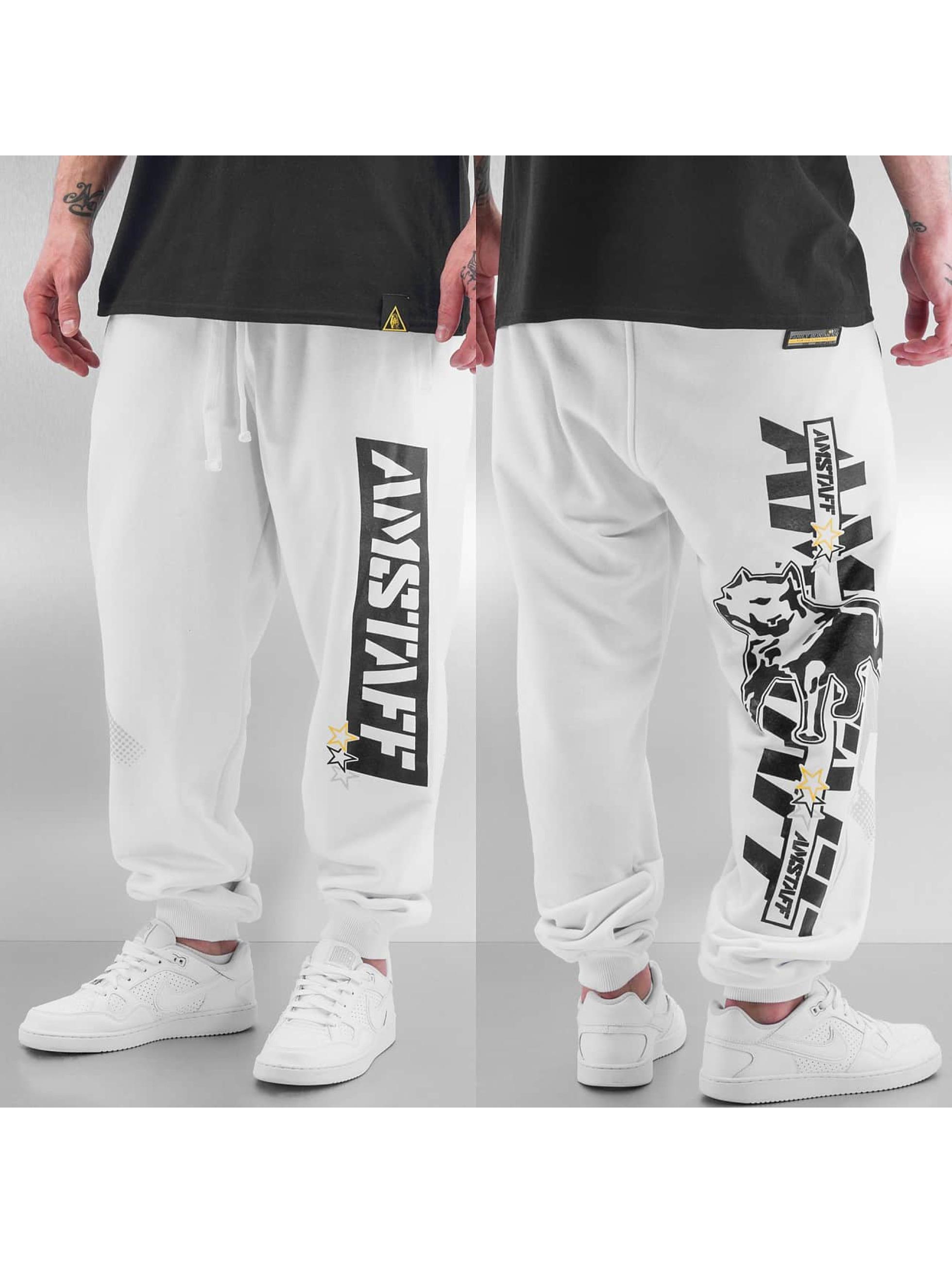Amstaff Спортивные брюки Agador белый