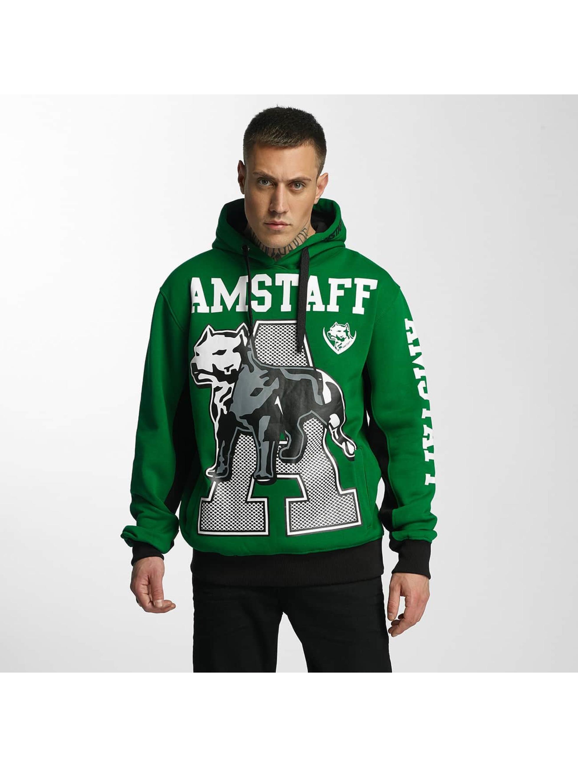 Amstaff Felpa con cappuccio Aldor verde
