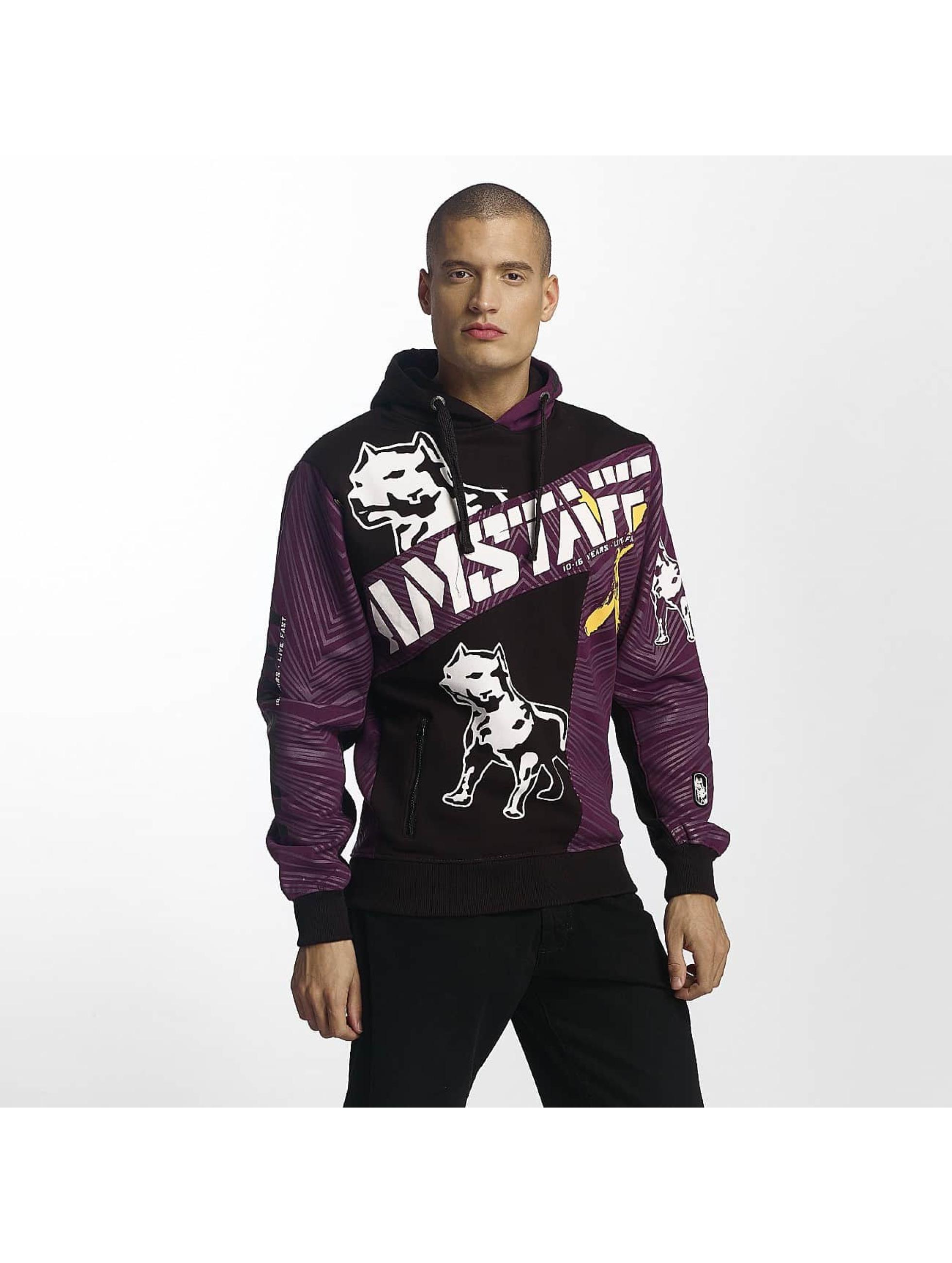 Amstaff Hoodie Kenai purple