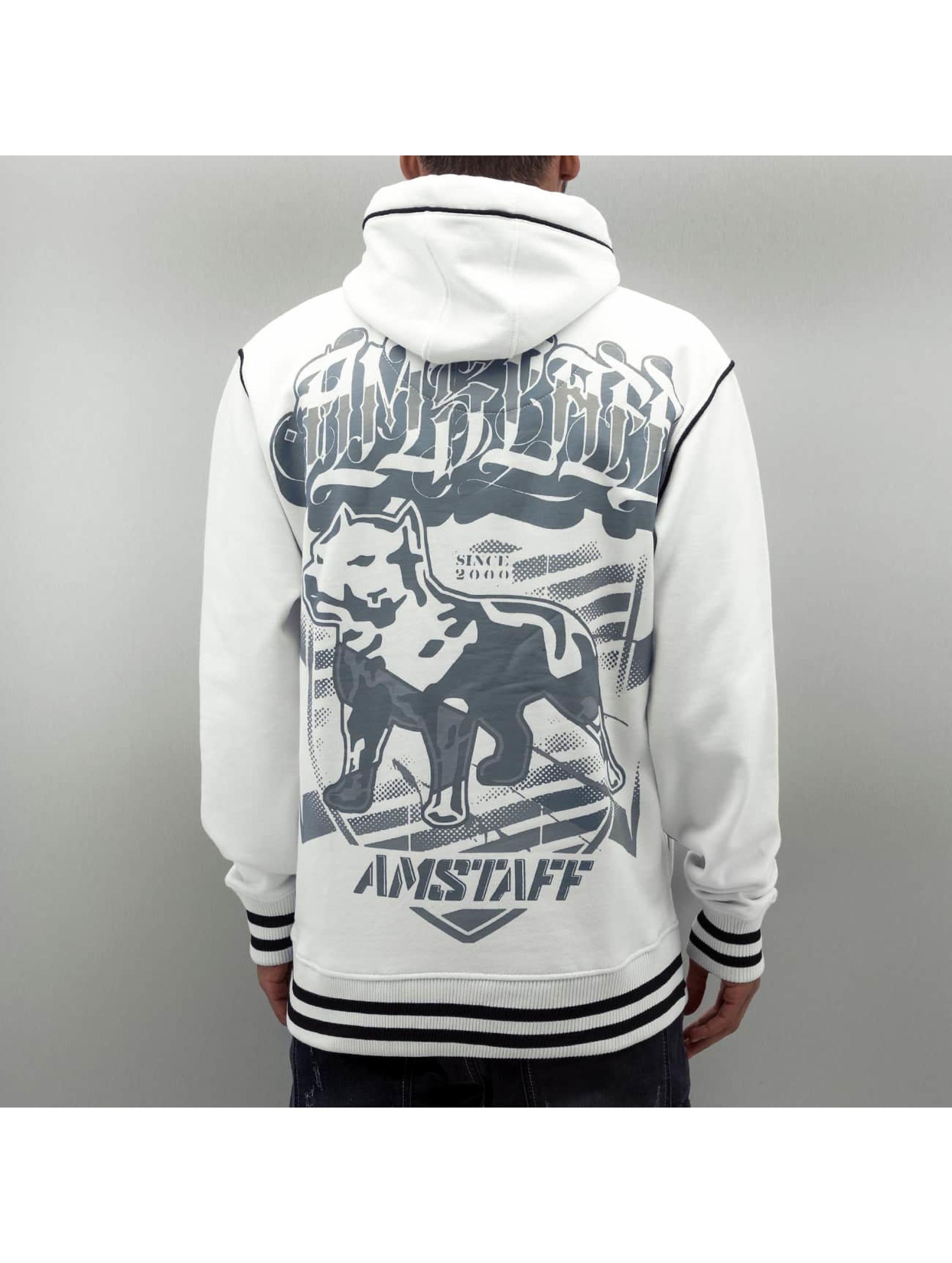 Amstaff Hoodie Tylos white