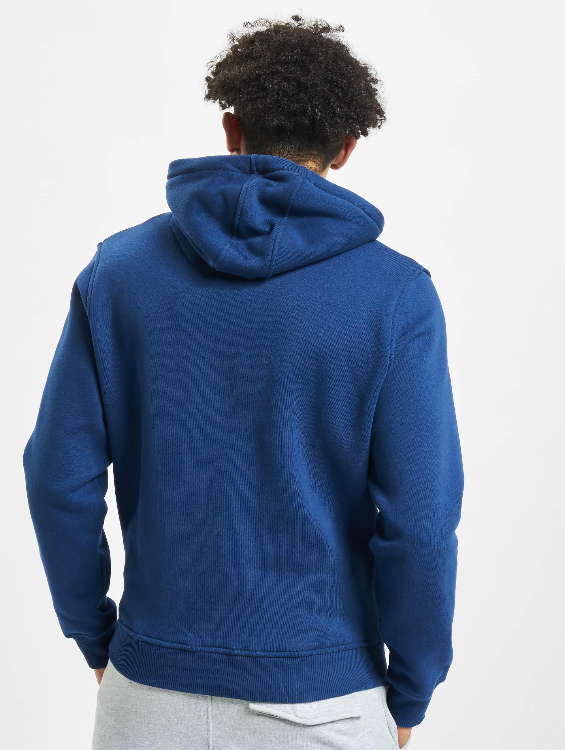 Amstaff Hoody Logo blau