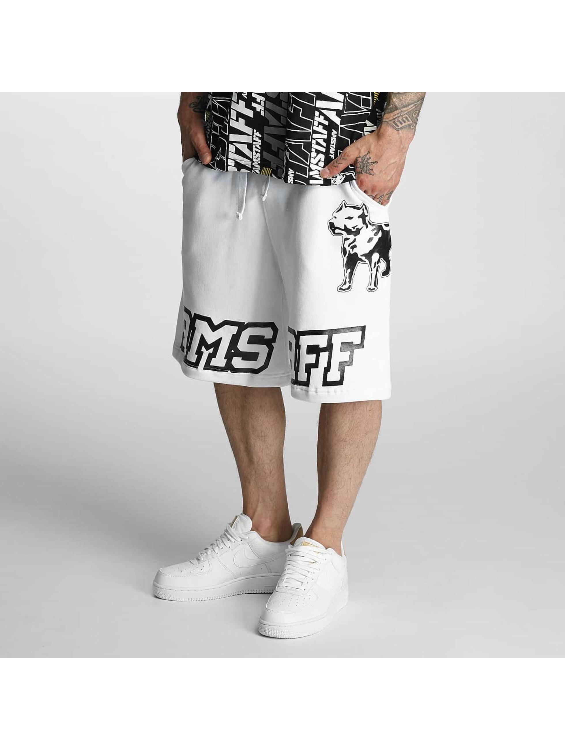 Amstaff Pantalón cortos Hokus blanco