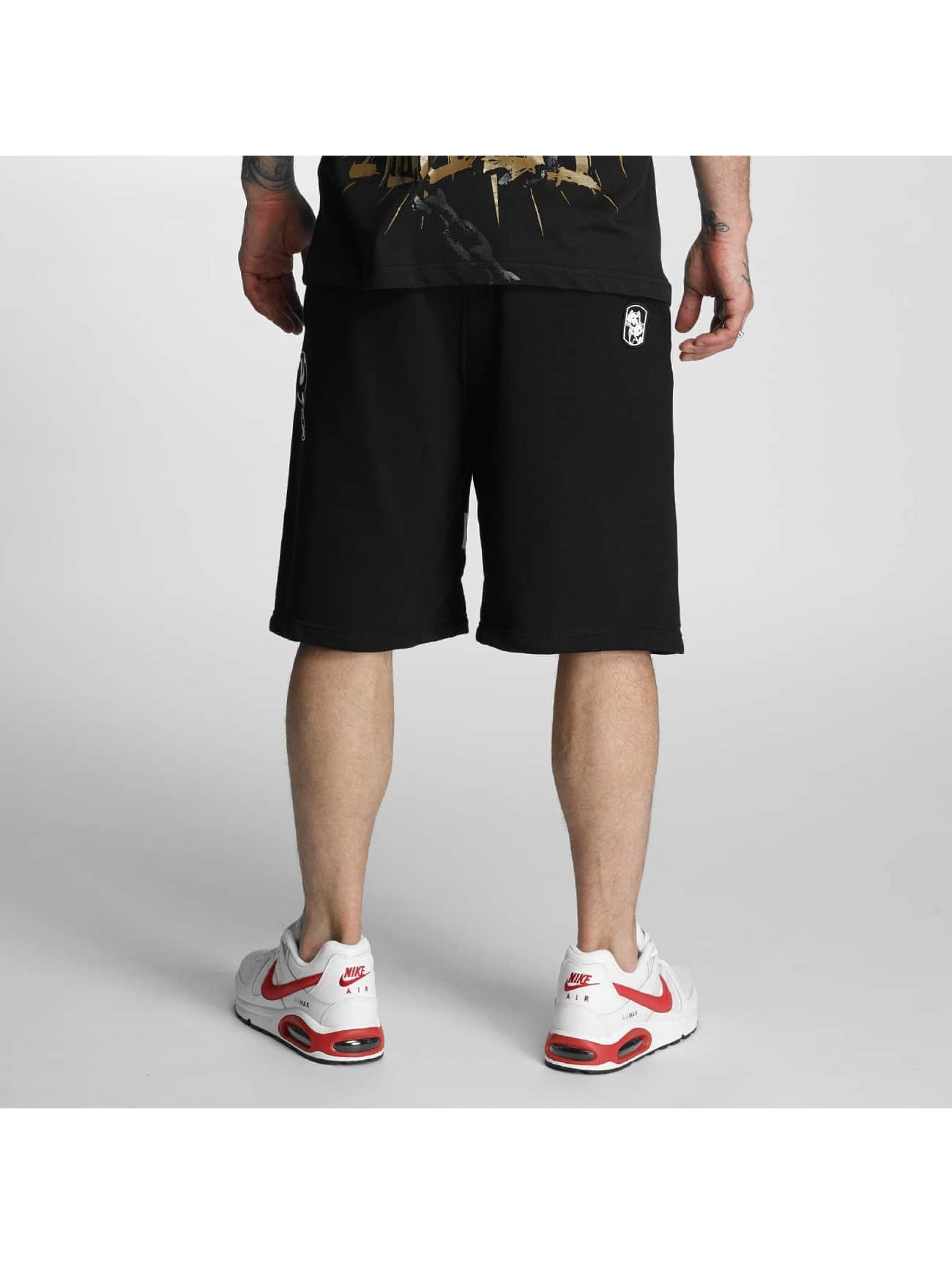 Amstaff Pantalón cortos Hokus negro