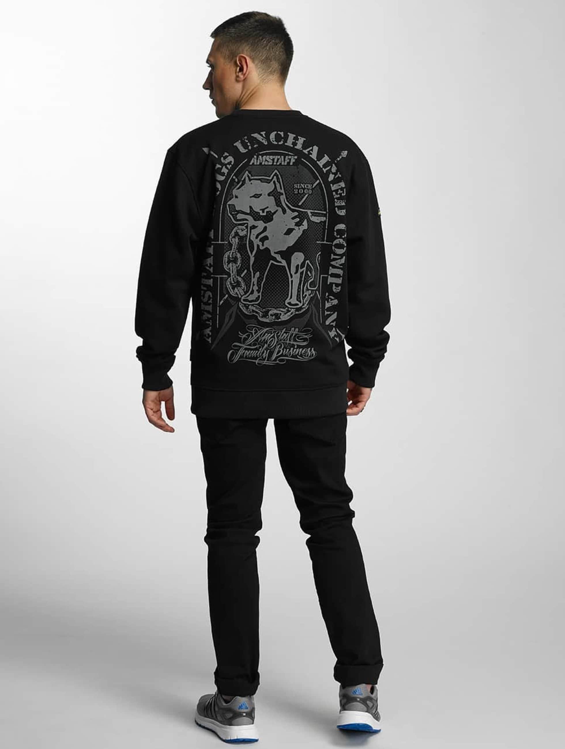 Amstaff Pullover Galan schwarz