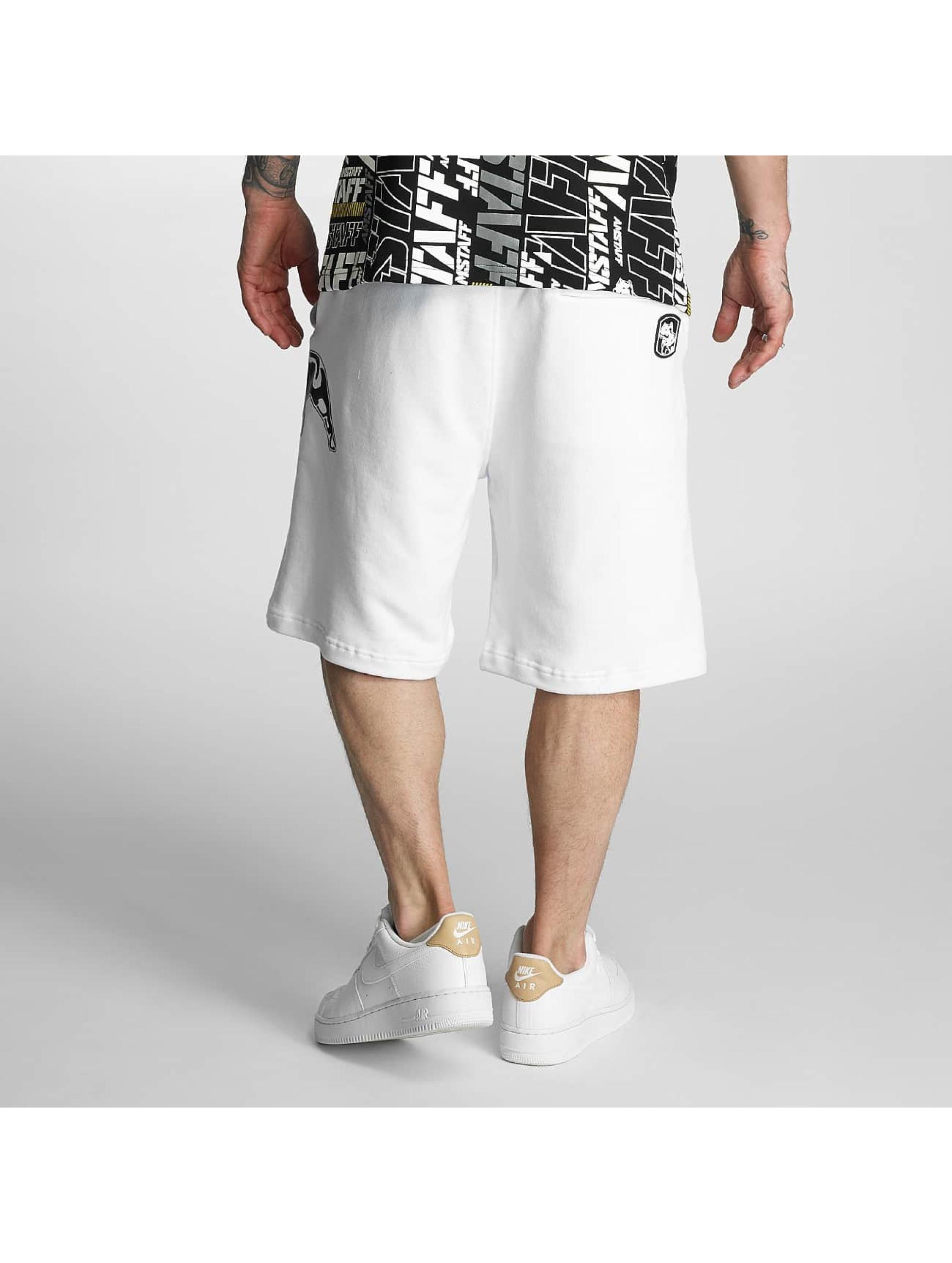 Amstaff Short Hokus blanc