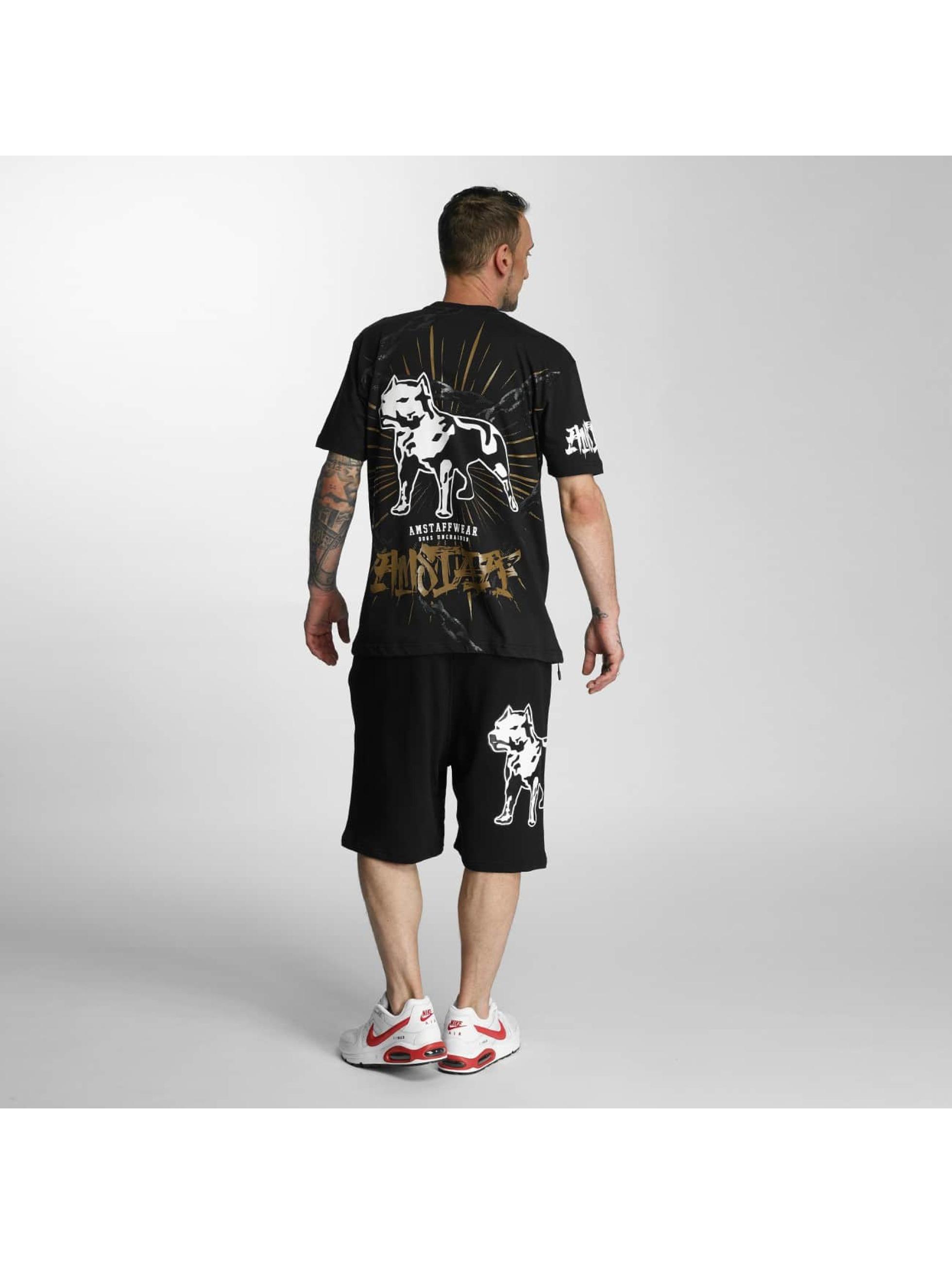 Amstaff shorts Derron zwart