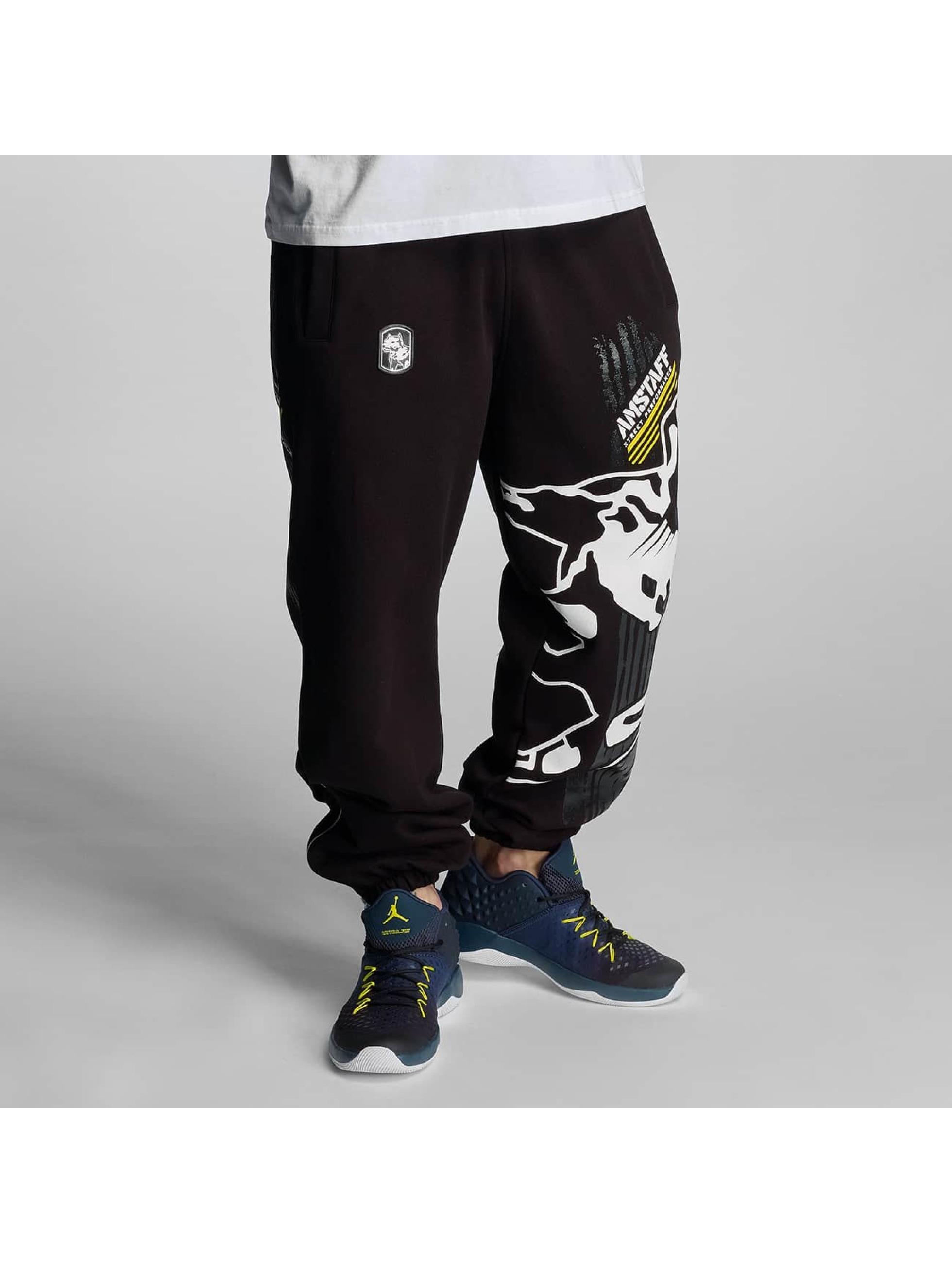 Amstaff Spodnie do joggingu Elard czarny