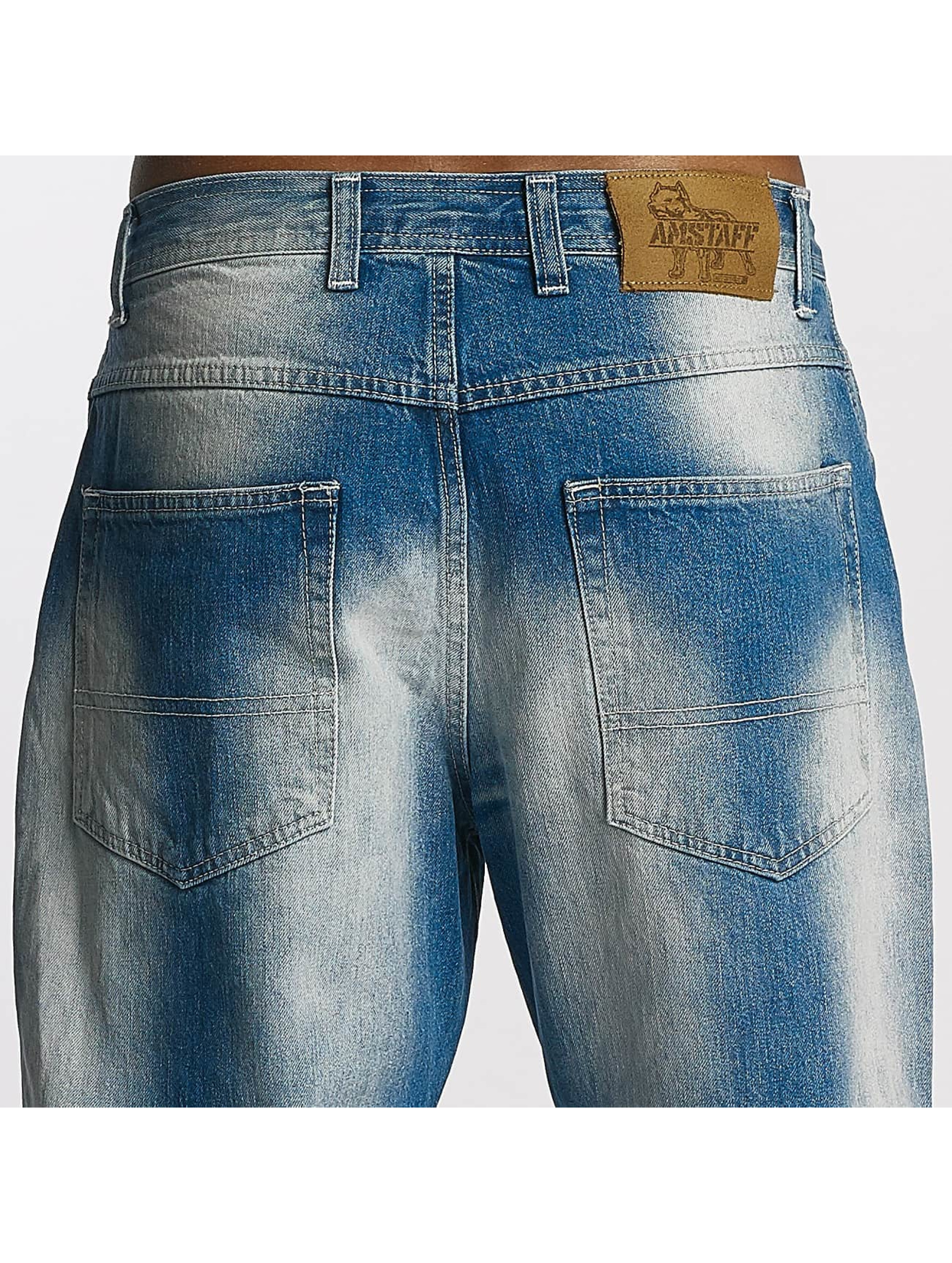 Amstaff Straight Fit Jeans Gecco blå