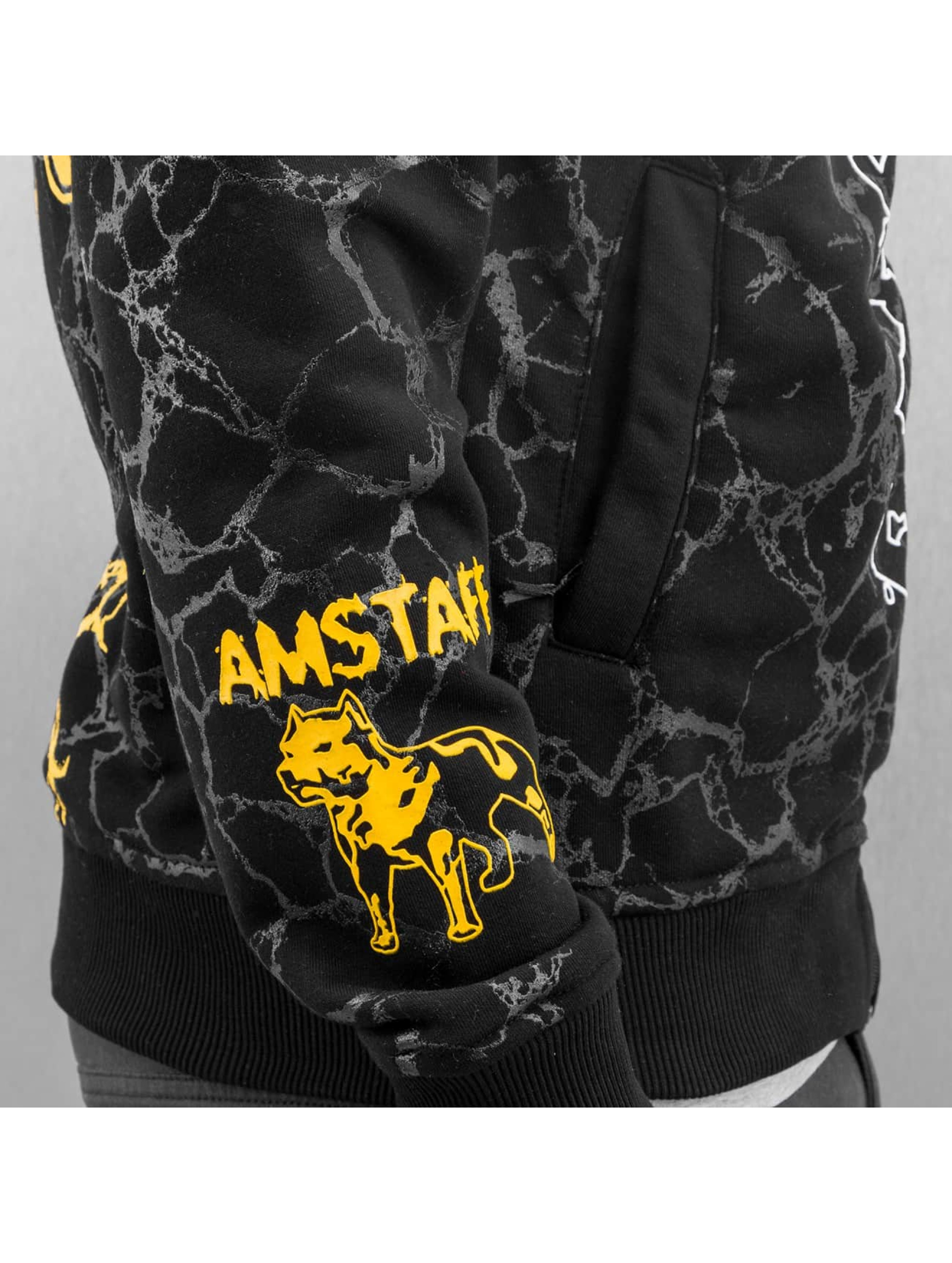 Amstaff Sweat capuche zippé Striker noir