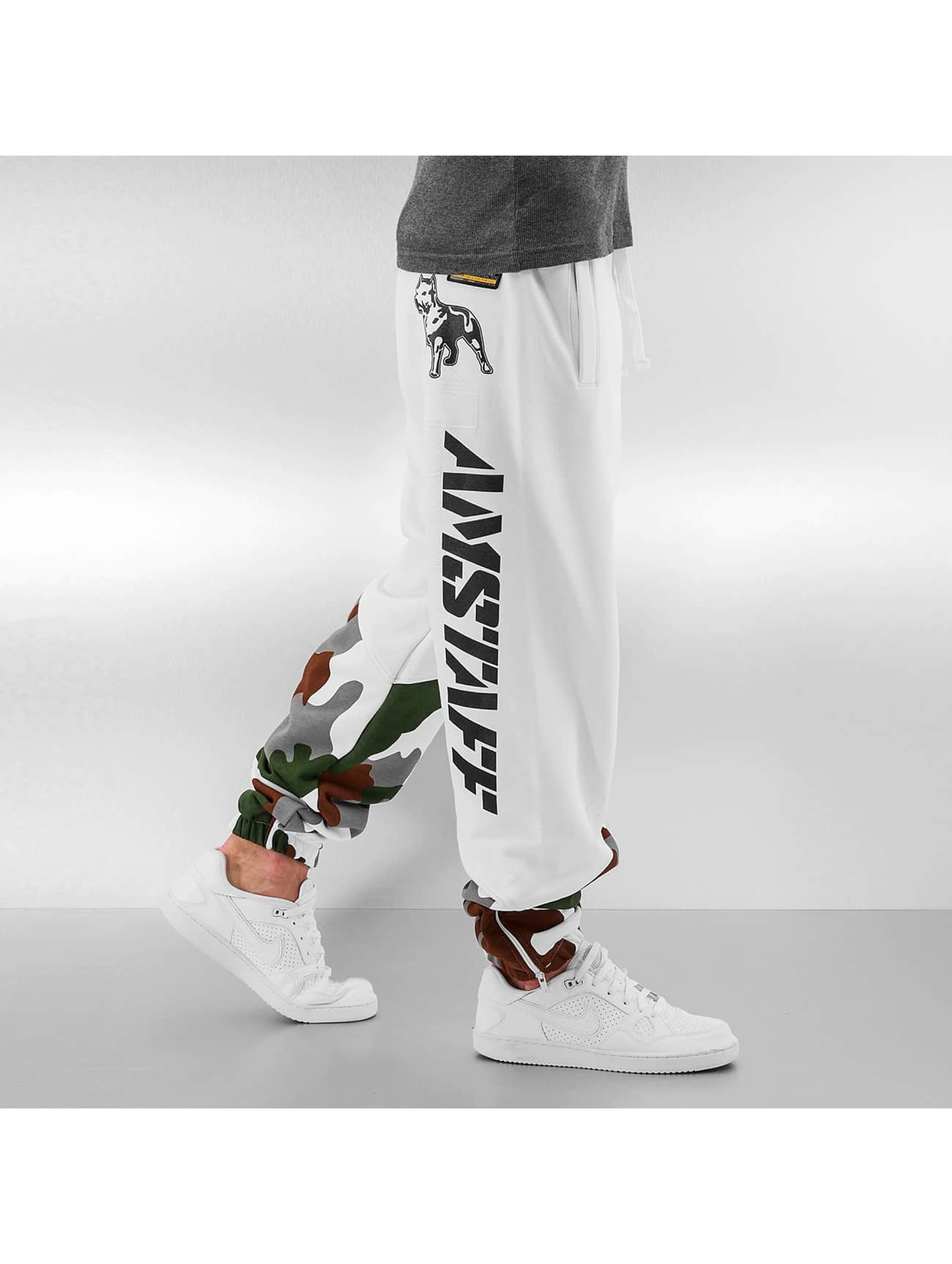 Amstaff Sweat Pant Zeroth white