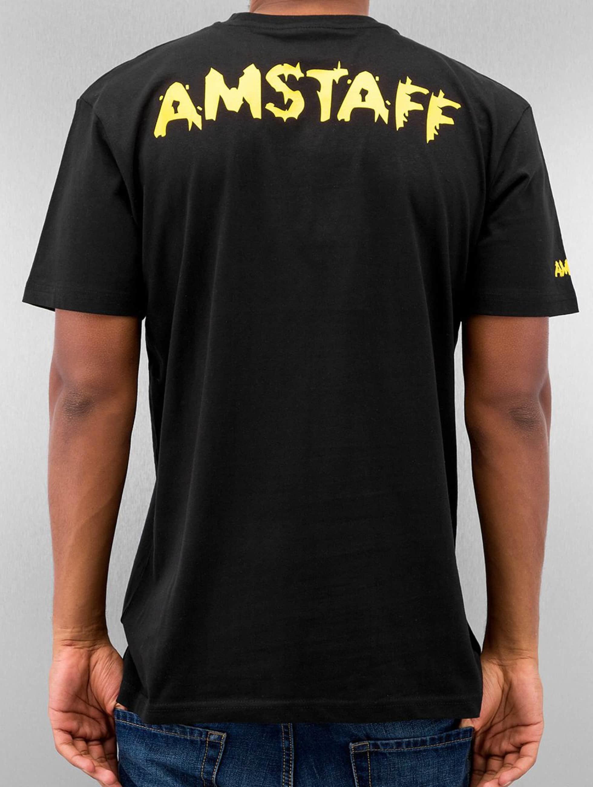 Amstaff T-paidat Logo musta