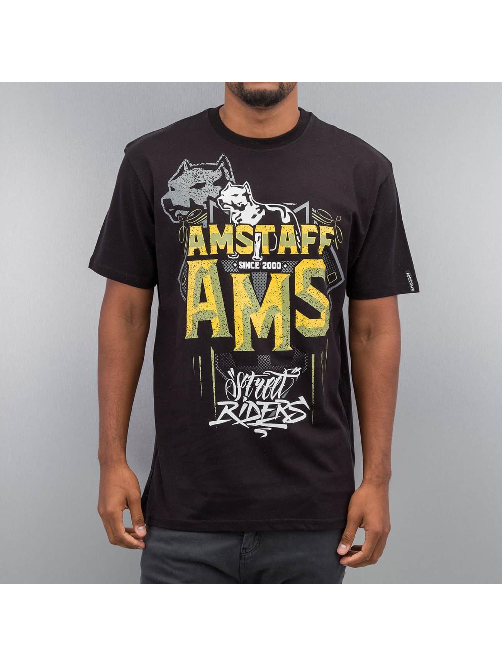 Amstaff T-paidat Harson musta