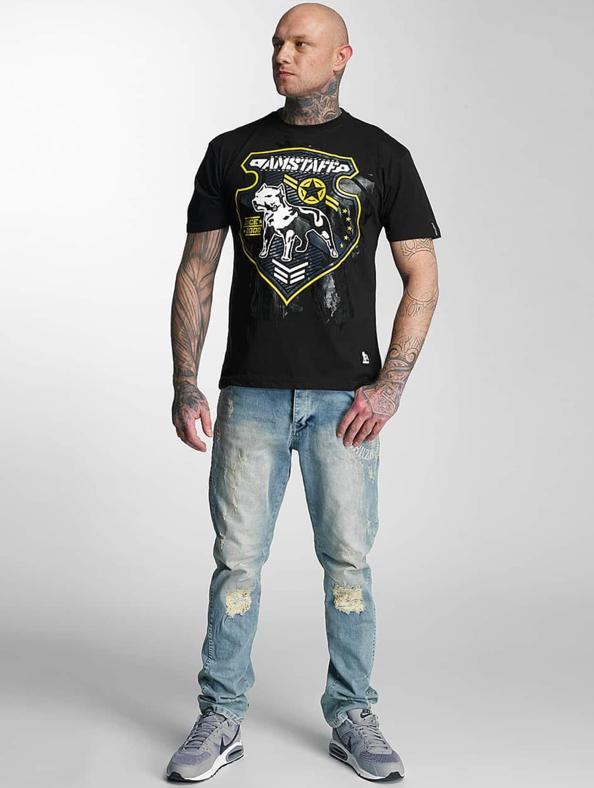 Amstaff T-Shirt Razar black