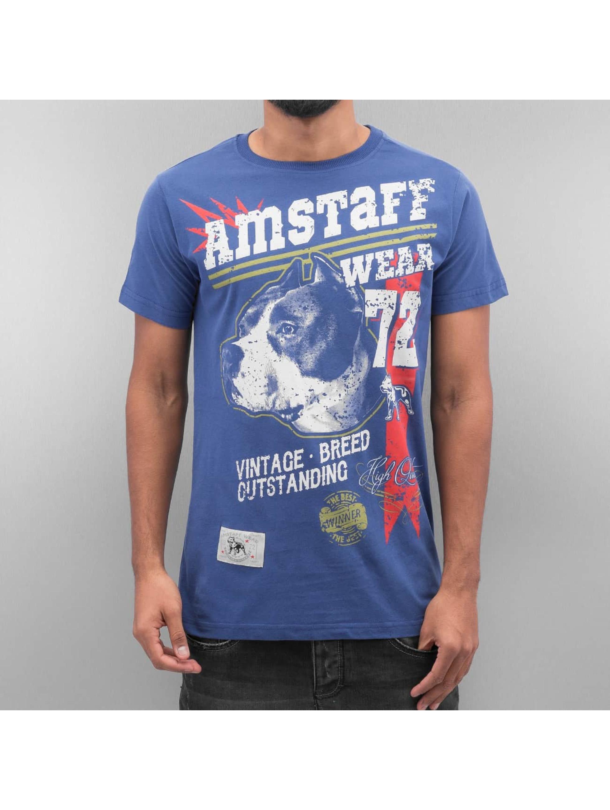 Amstaff T-Shirt Lomex blue