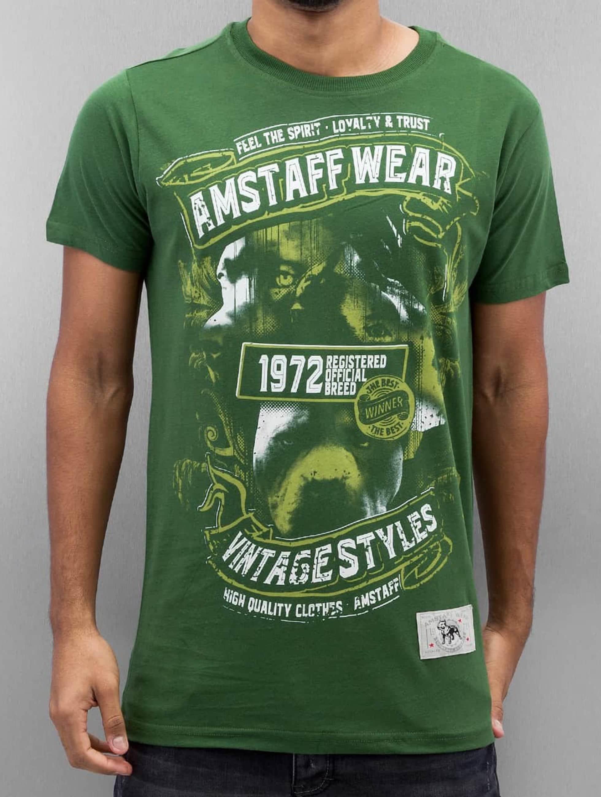 Amstaff T-Shirt Isanto green