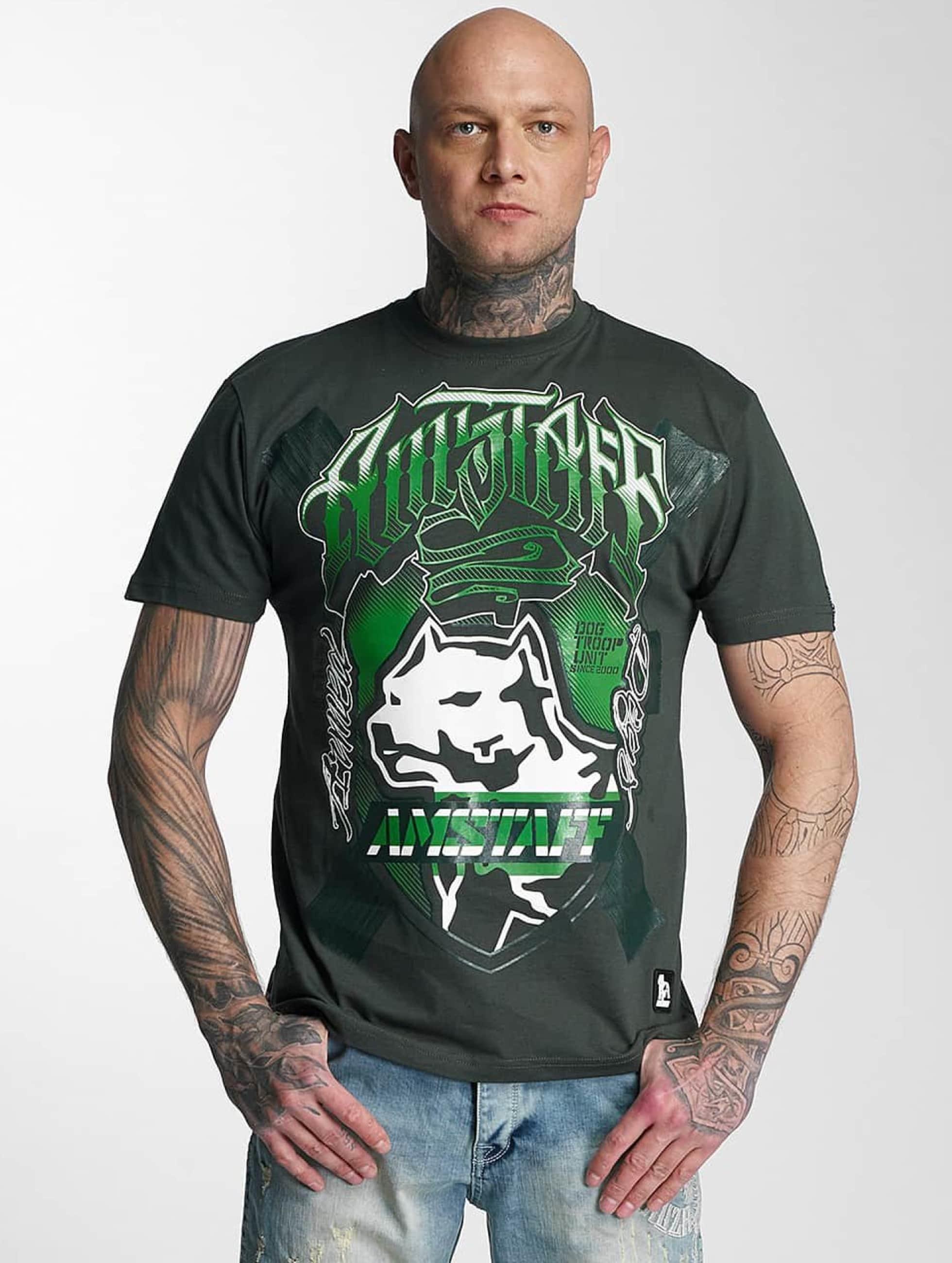 Amstaff t-shirt Zillus groen