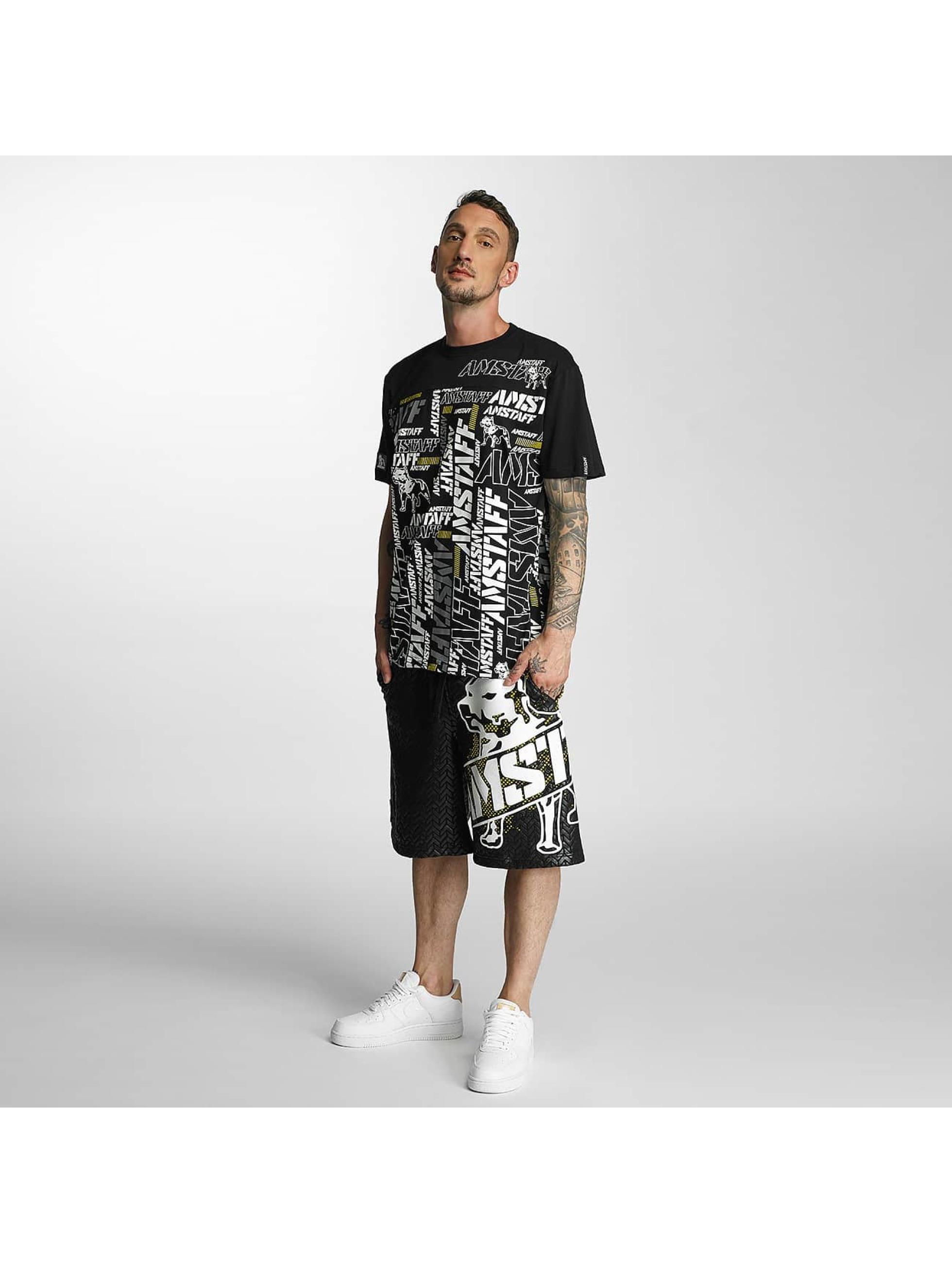 Amstaff T-shirt Talis nero