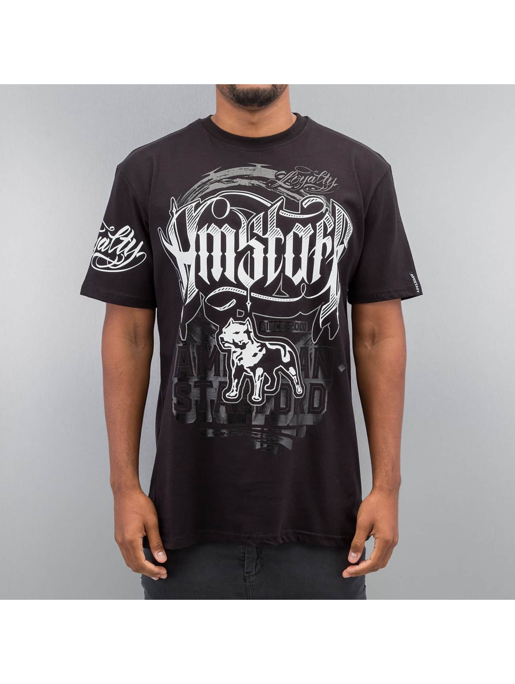 Amstaff T-Shirt Korsos noir