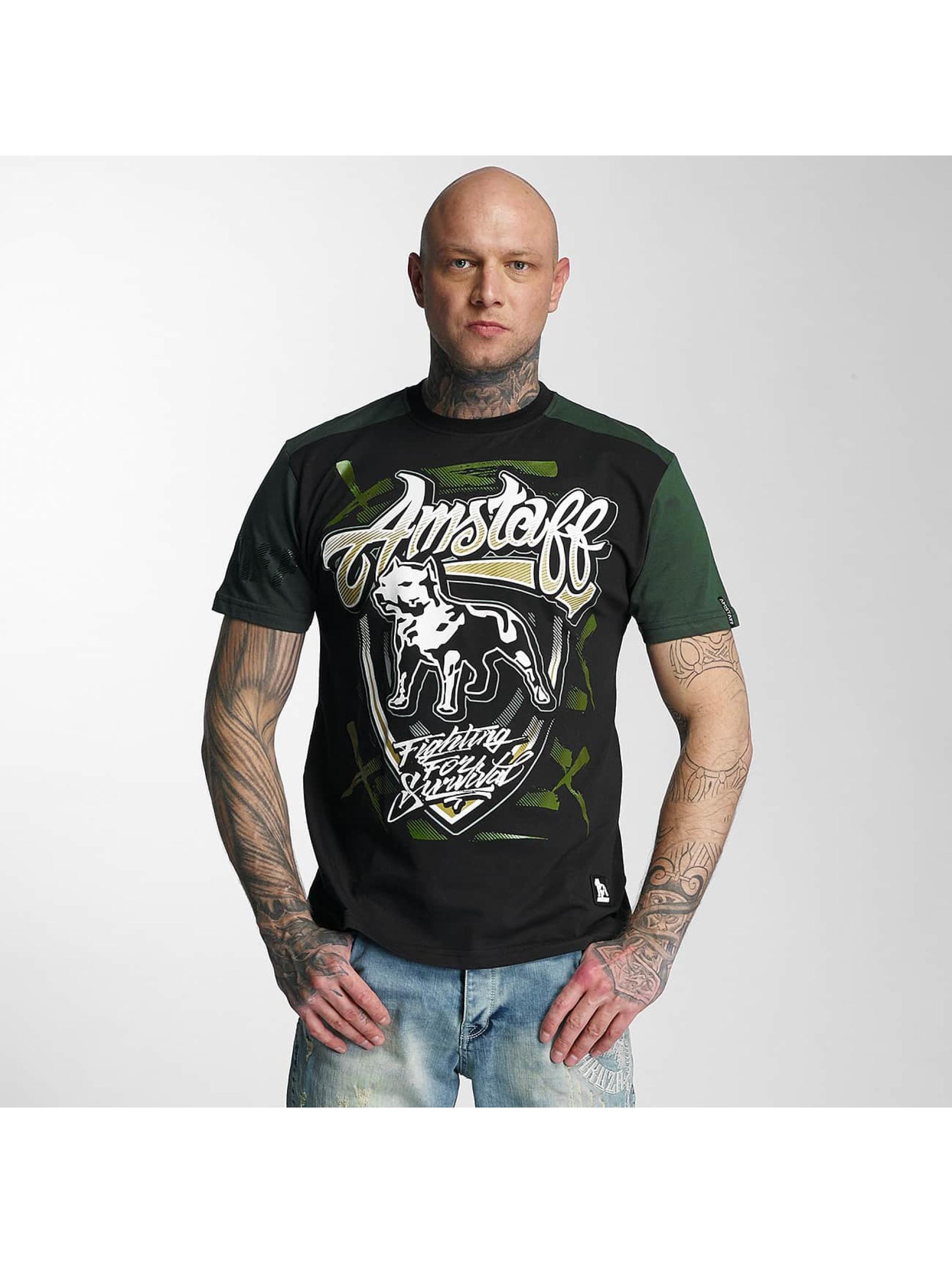 Amstaff T-Shirt Lizard noir