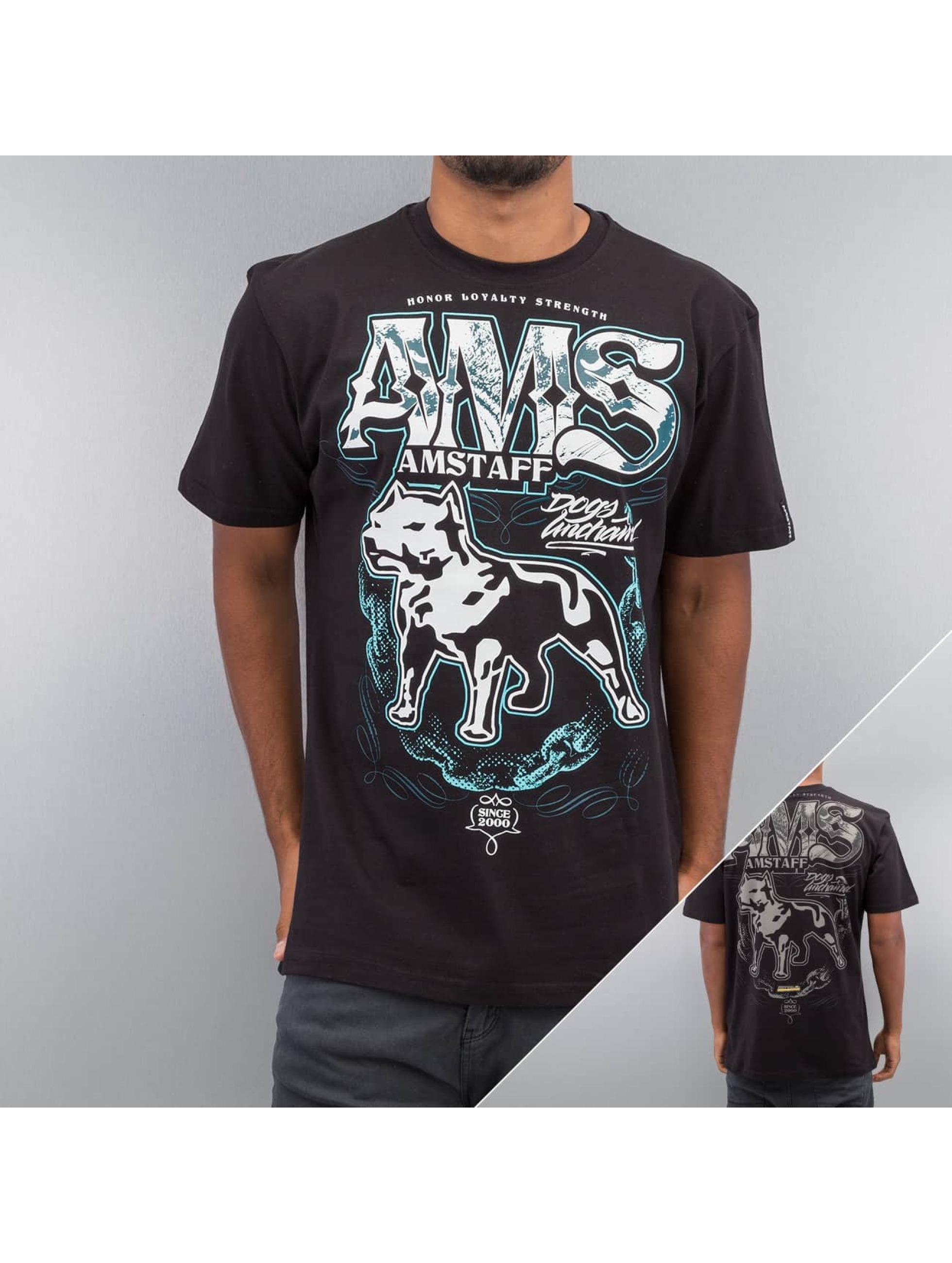 Amstaff T-Shirt Daban schwarz
