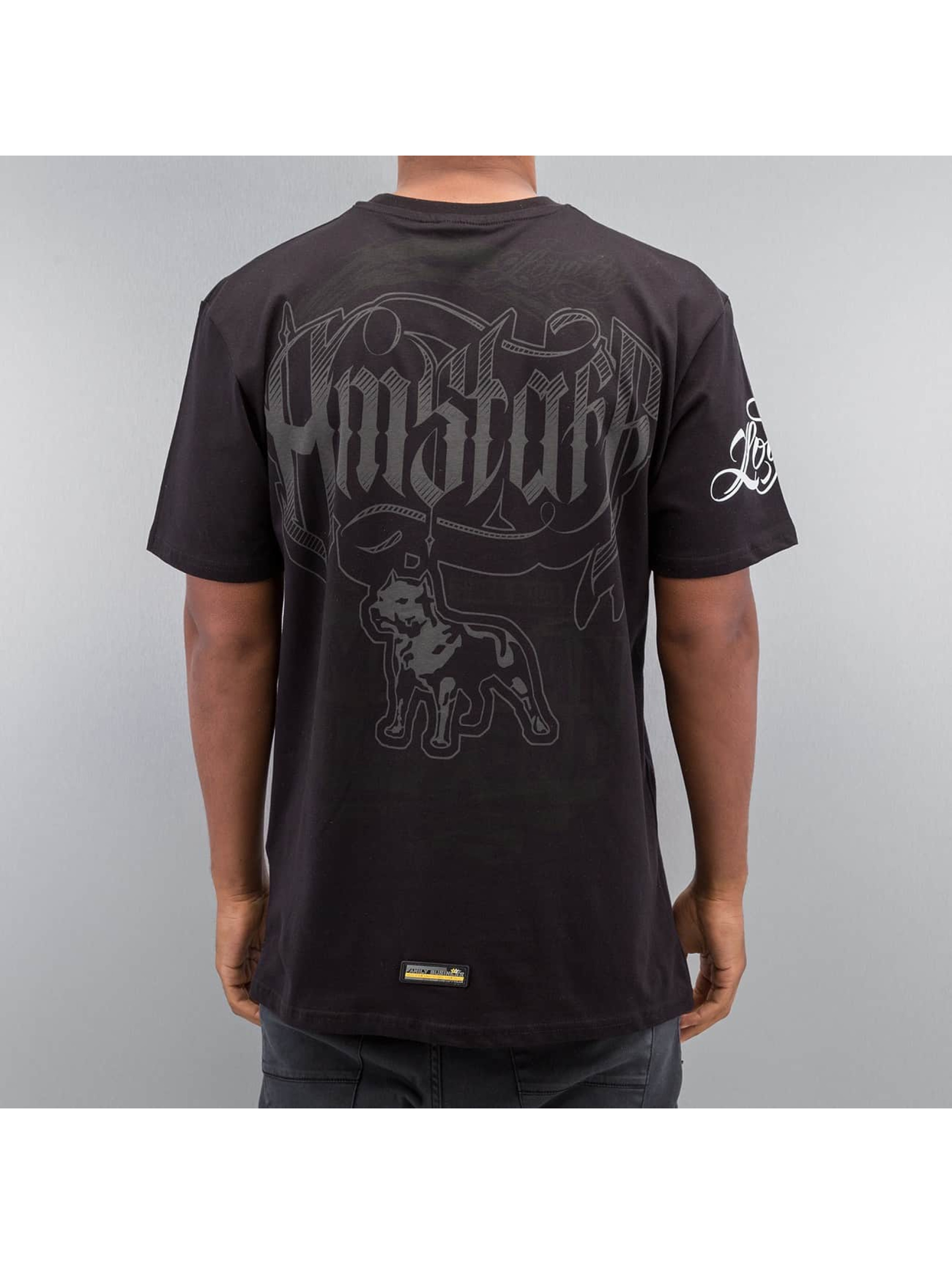 Amstaff T-shirt Korsos svart