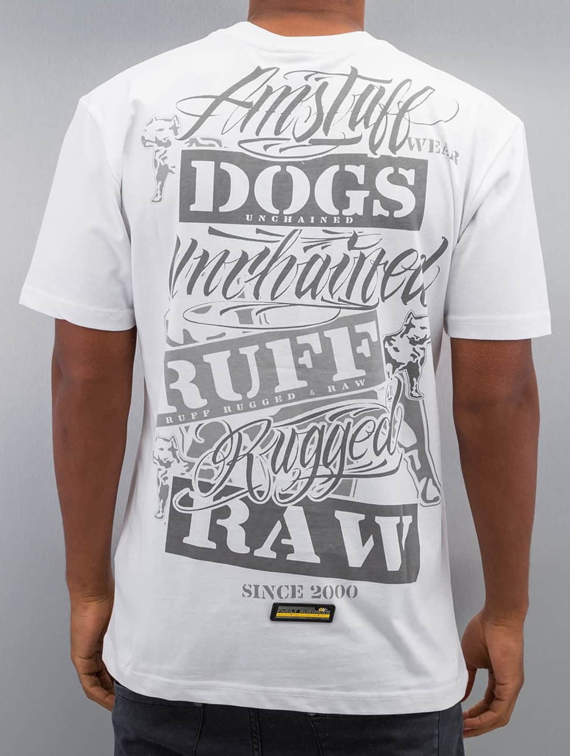 Amstaff T-Shirt Mero weiß
