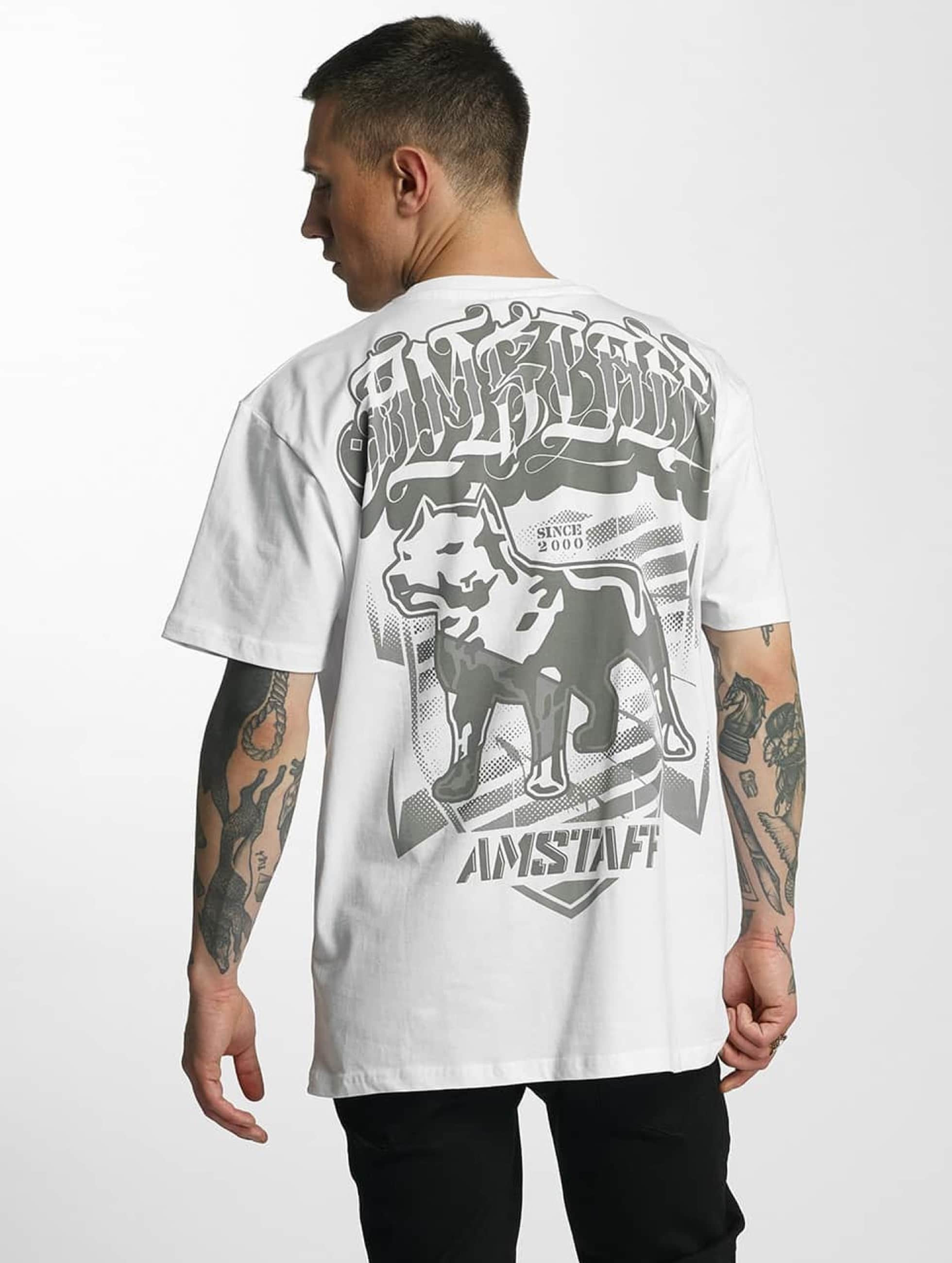 Amstaff T-Shirt Tylos weiß