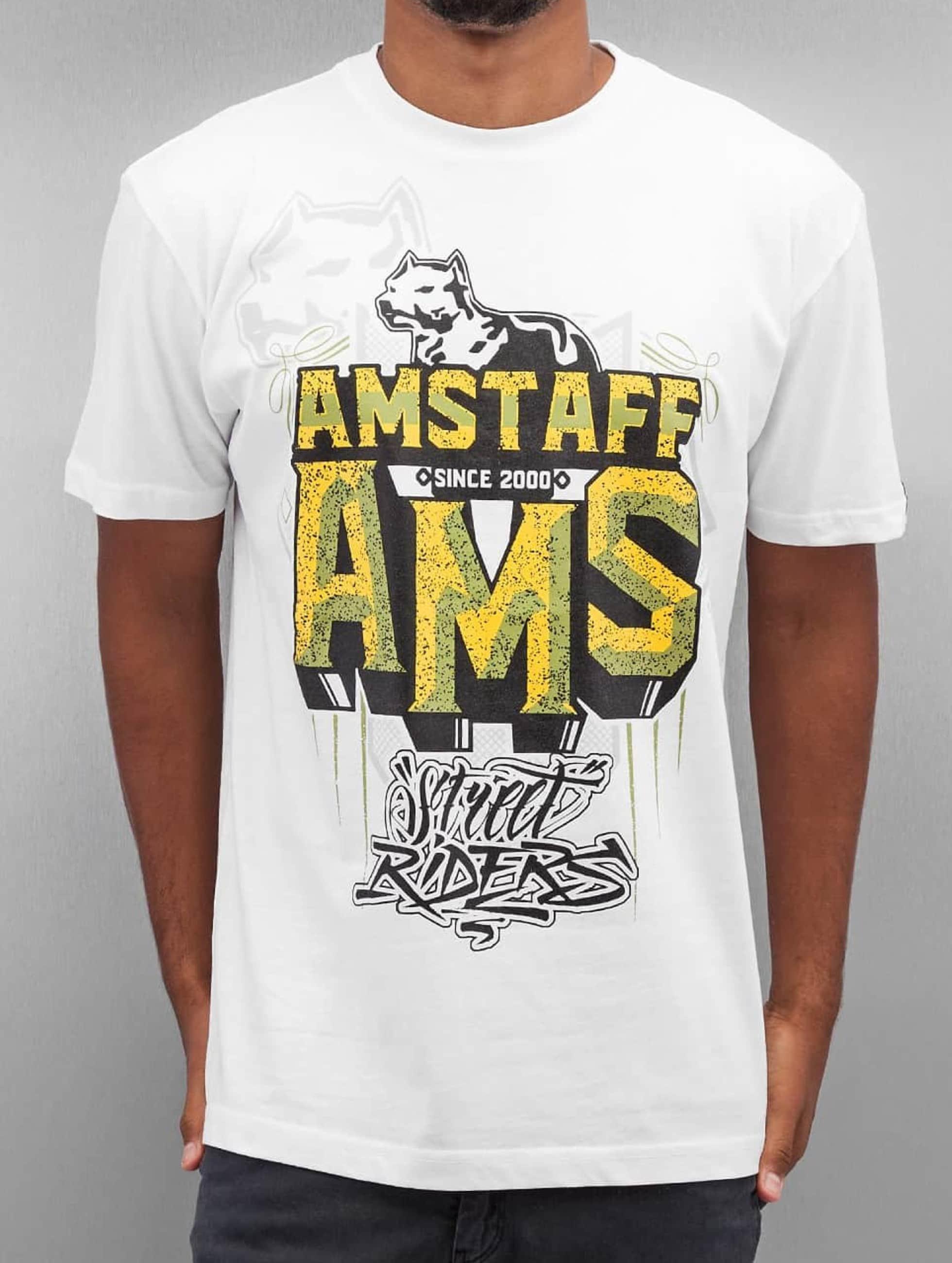 Amstaff T-Shirt Harson weiß