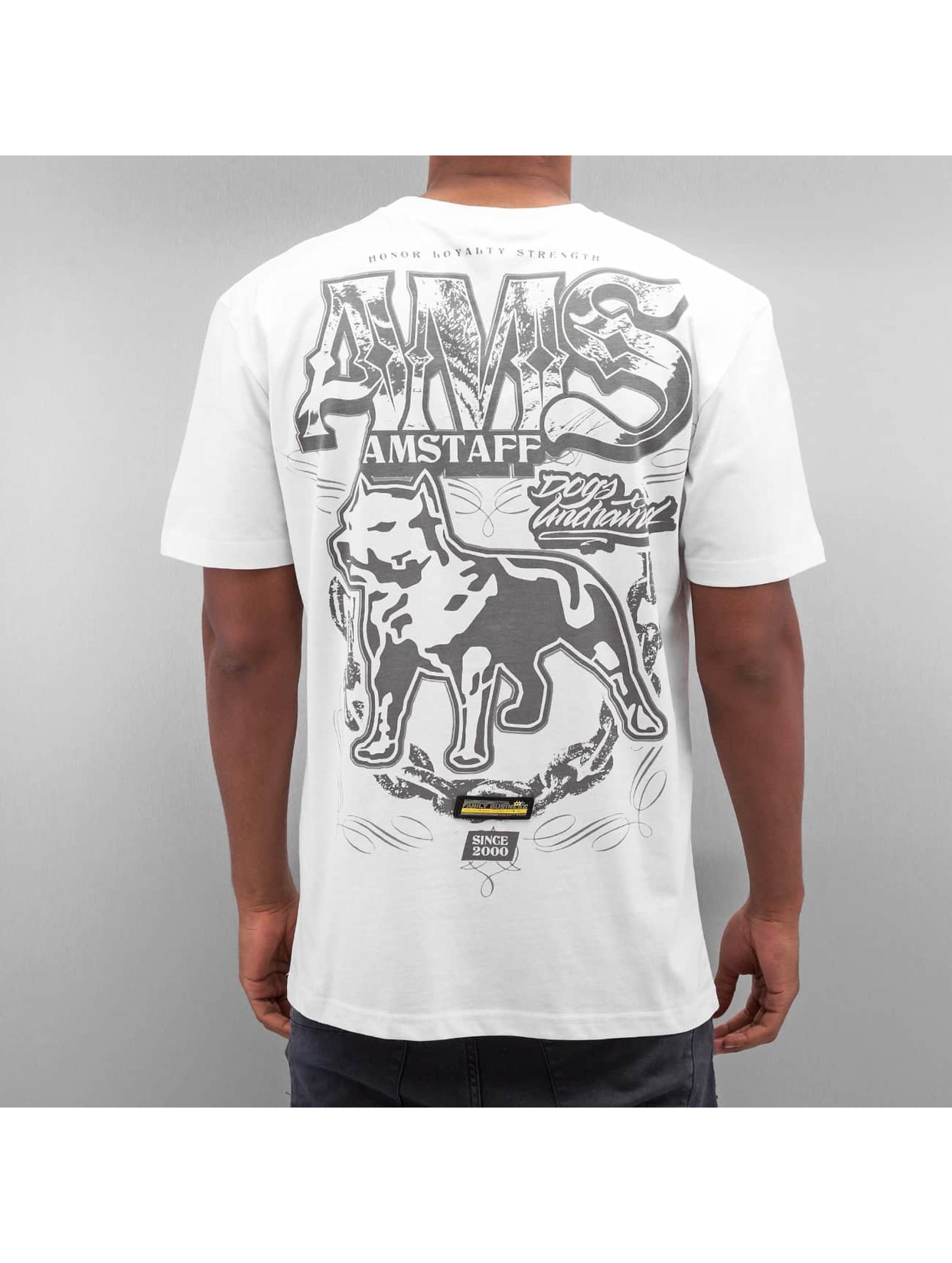 Amstaff t-shirt Daban wit