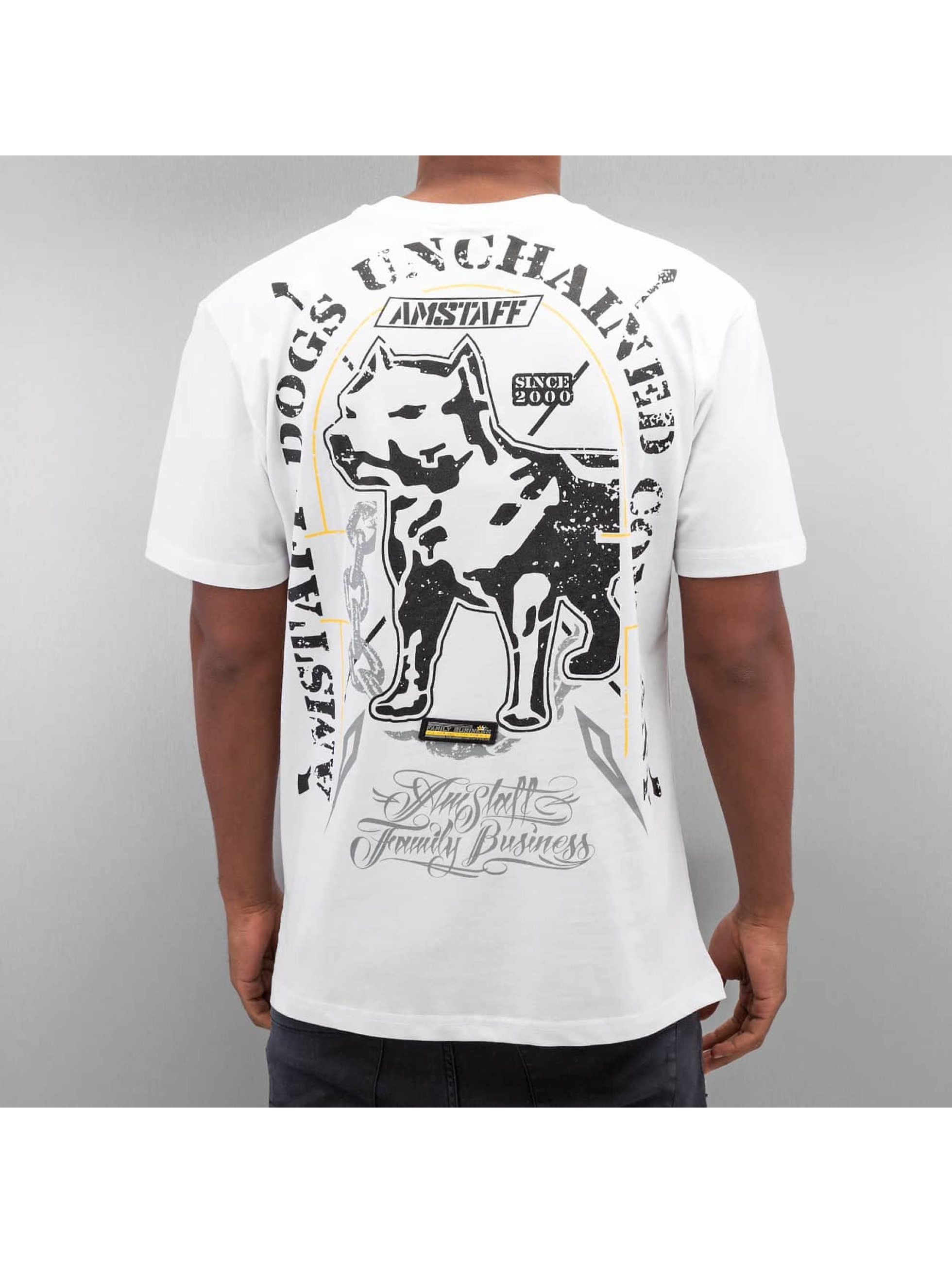 Amstaff t-shirt Galan wit
