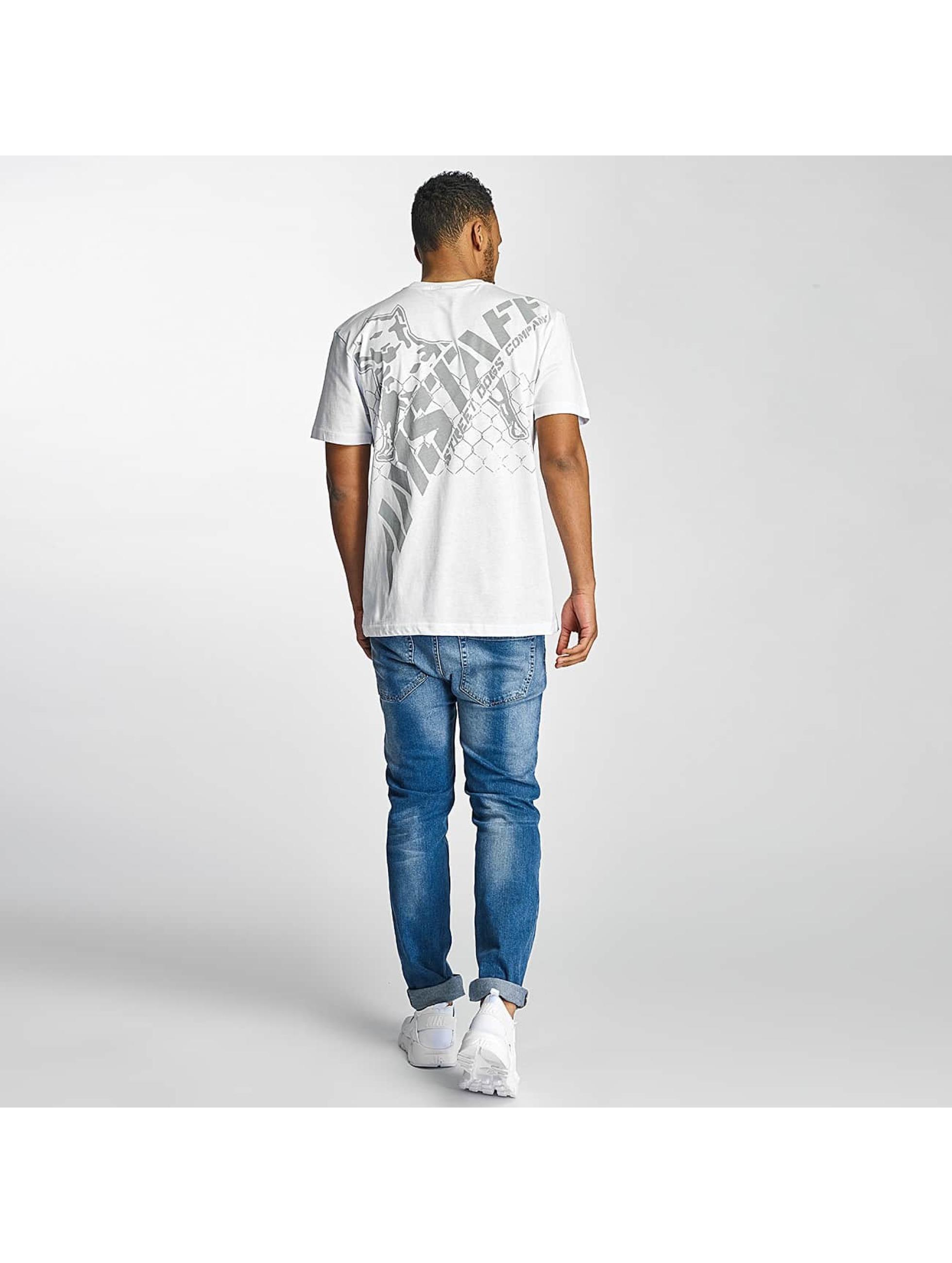 Amstaff t-shirt Kalamos wit