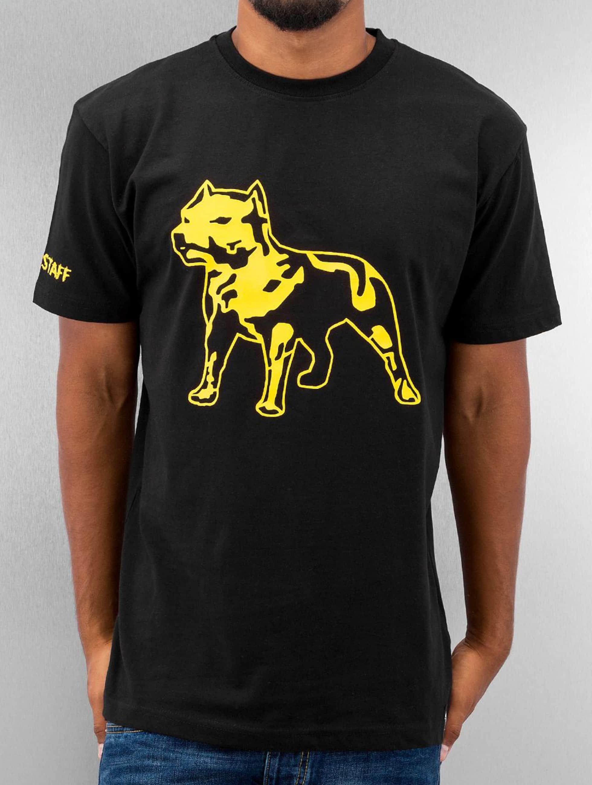 Amstaff t-shirt Logo zwart