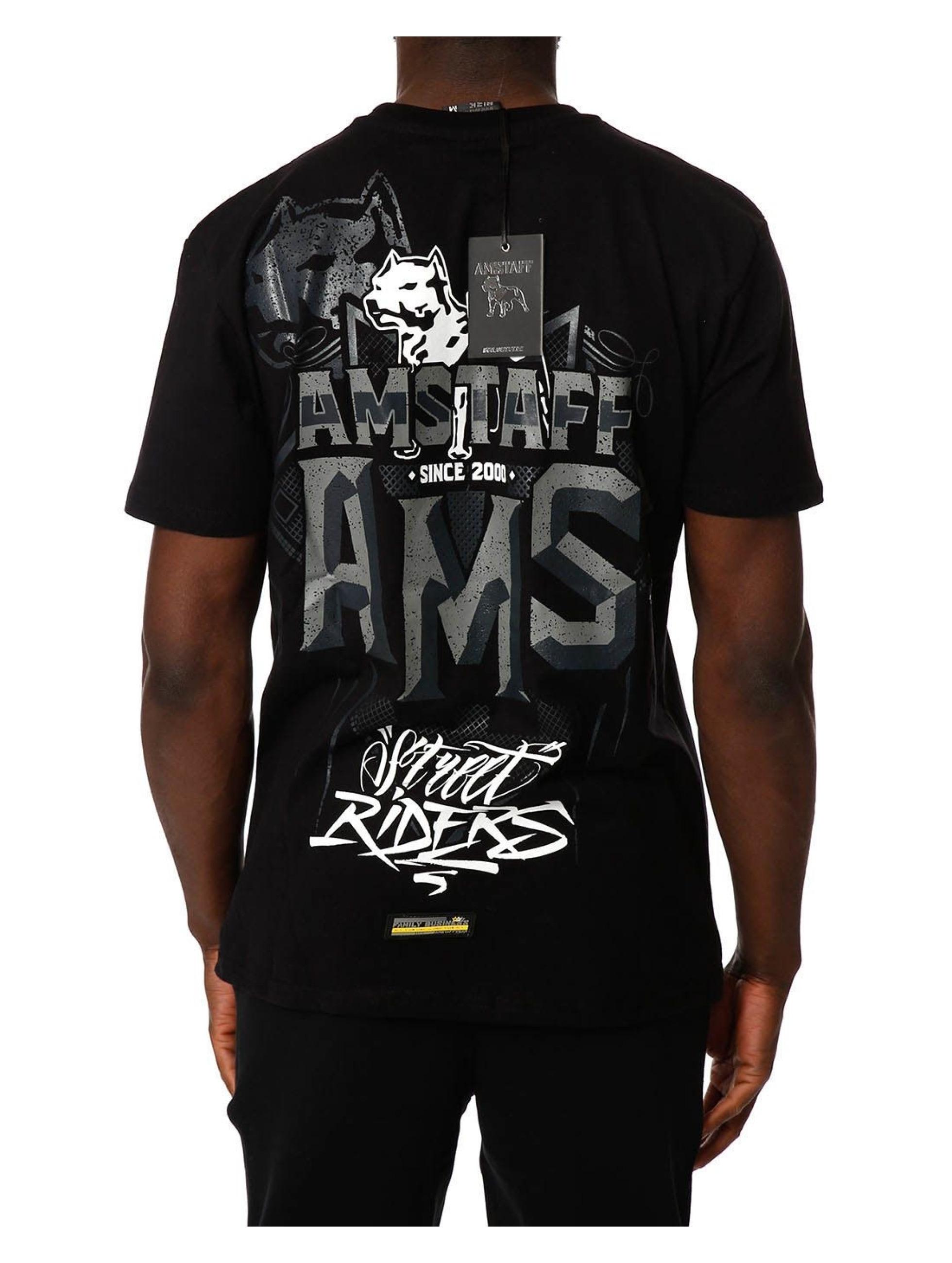 Amstaff t-shirt Harson zwart