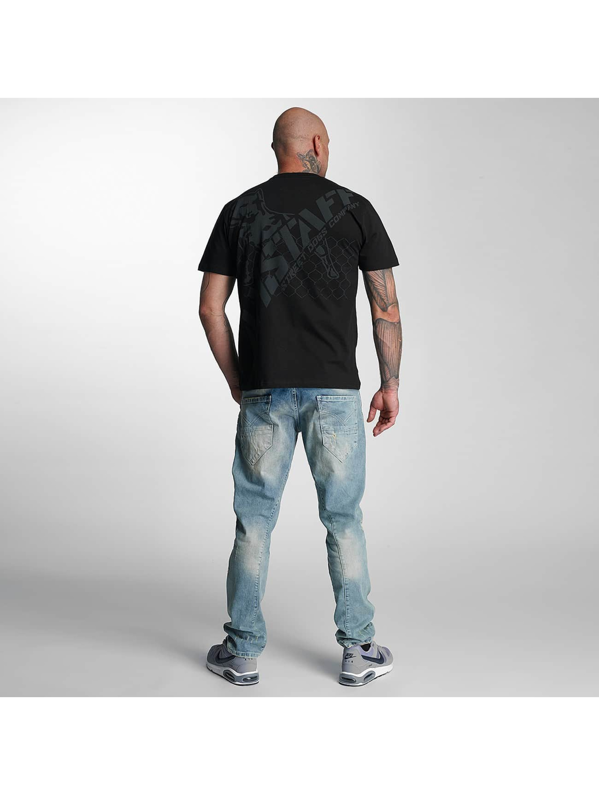 Amstaff t-shirt Kalamos zwart