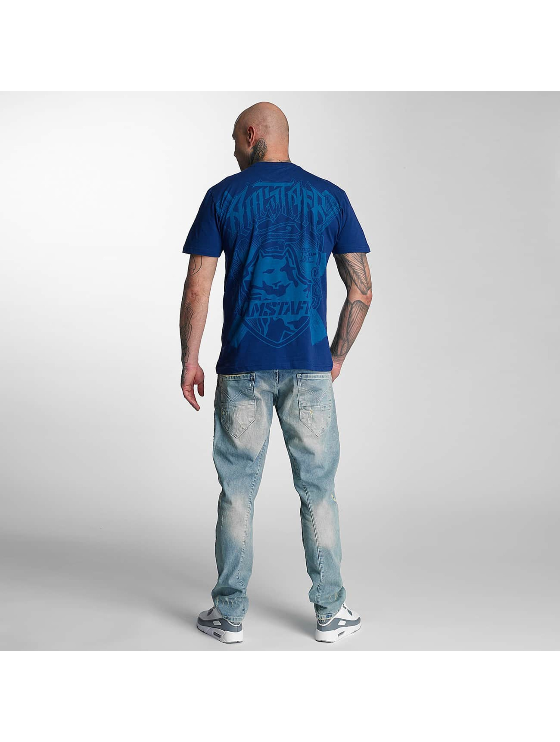 Amstaff T-shirts Zillus blå