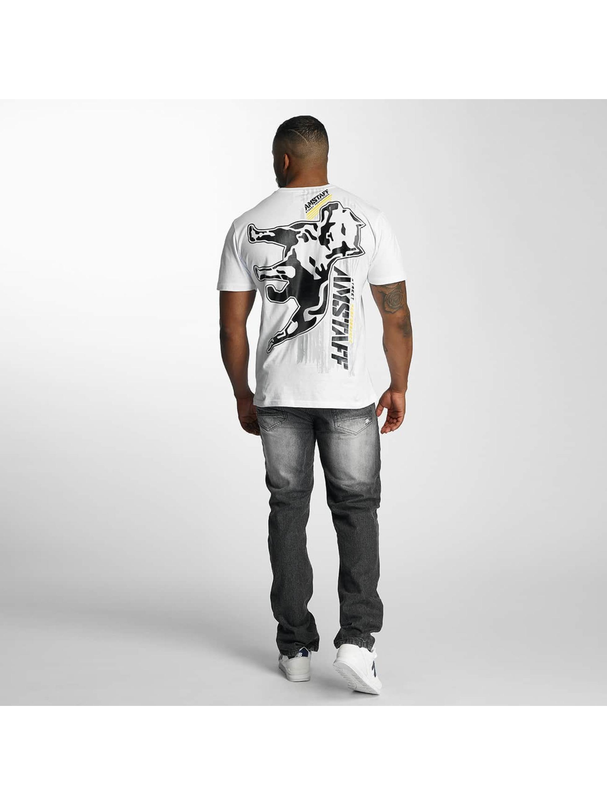 Amstaff T-shirts Elard hvid