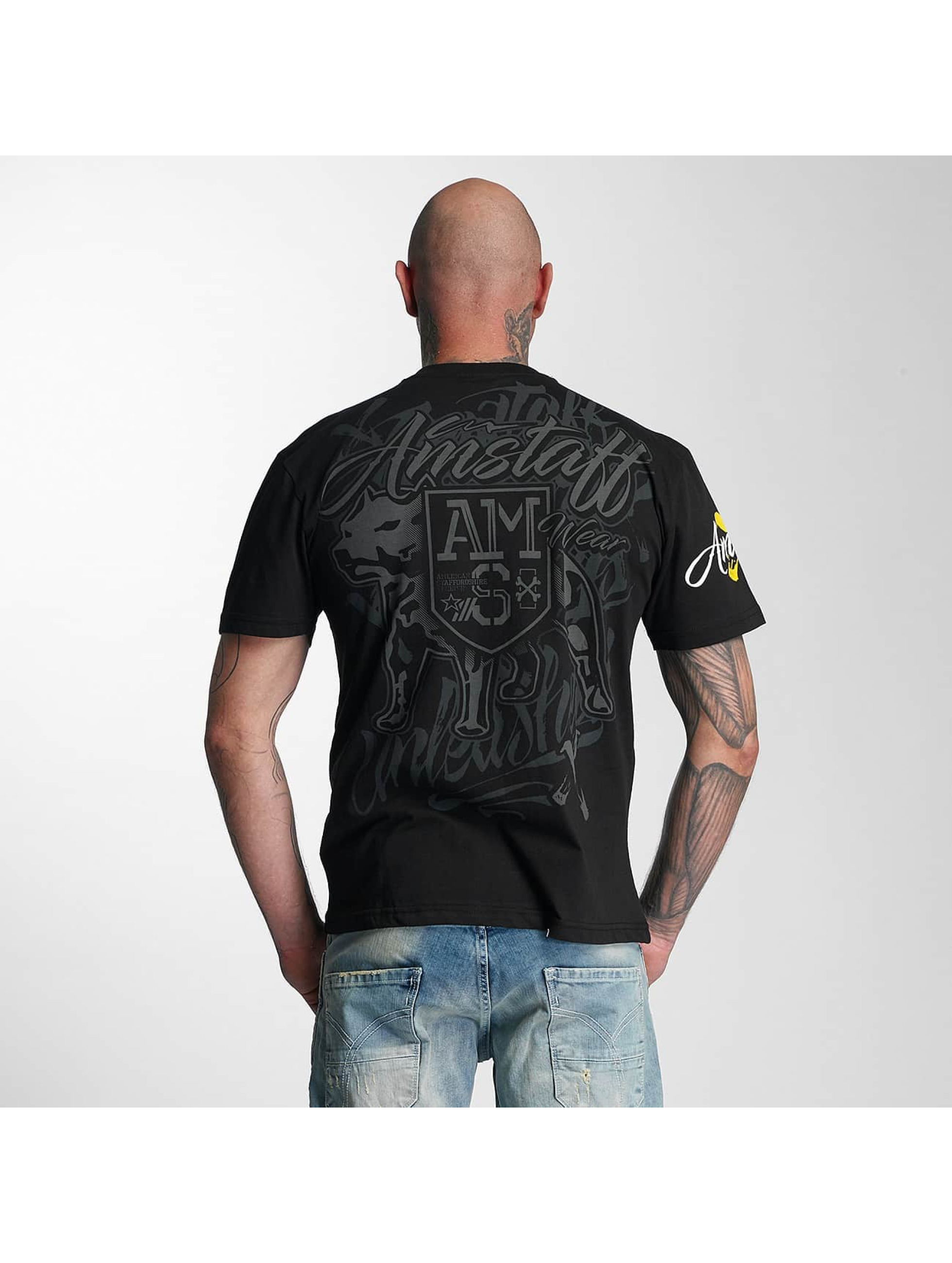 Amstaff T-shirts Canis sort