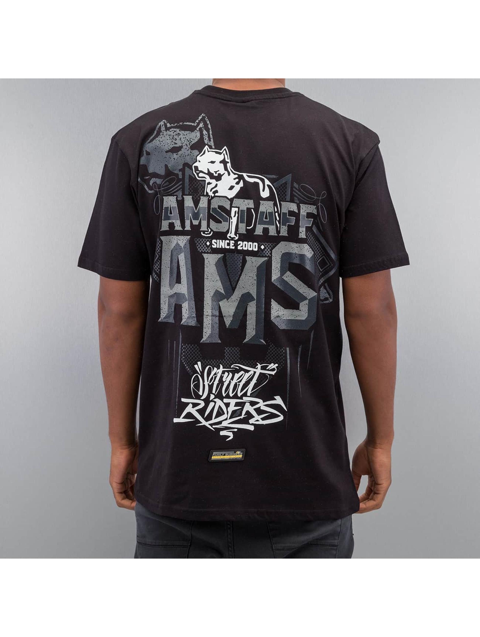 Amstaff T-Shirty Harson czarny