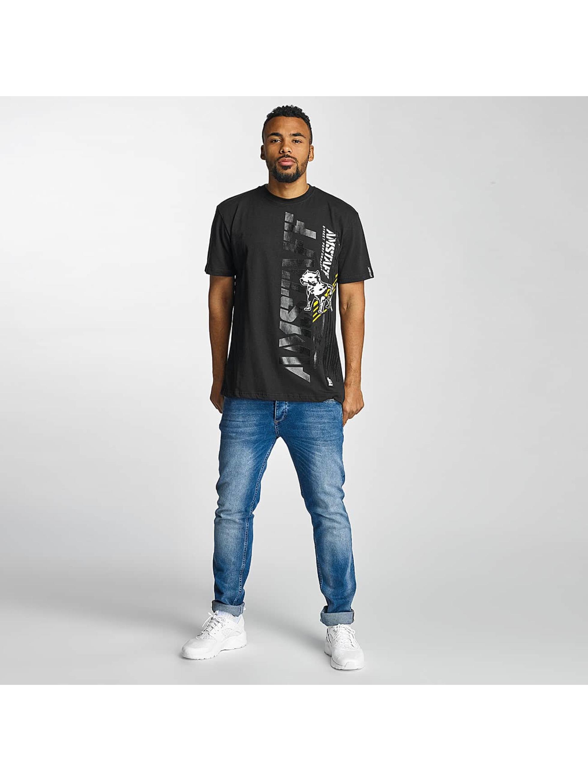 Amstaff T-Shirty Elard czarny
