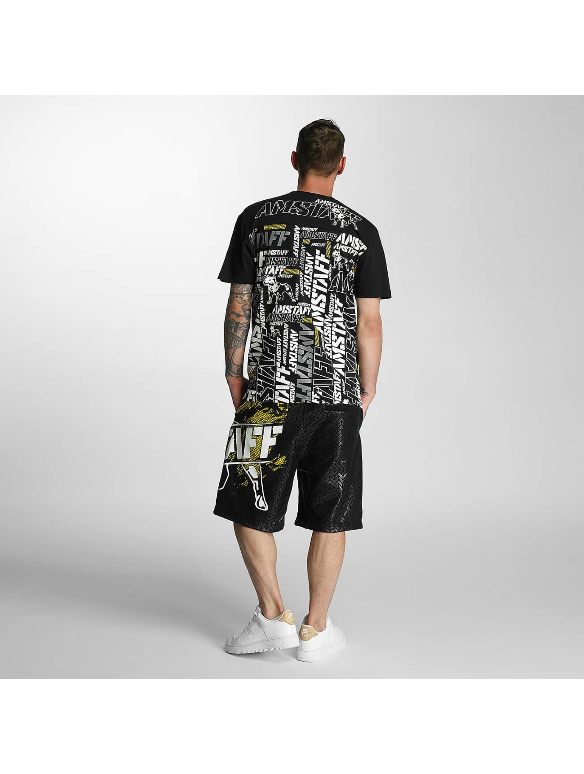 Amstaff T-Shirty Talis czarny