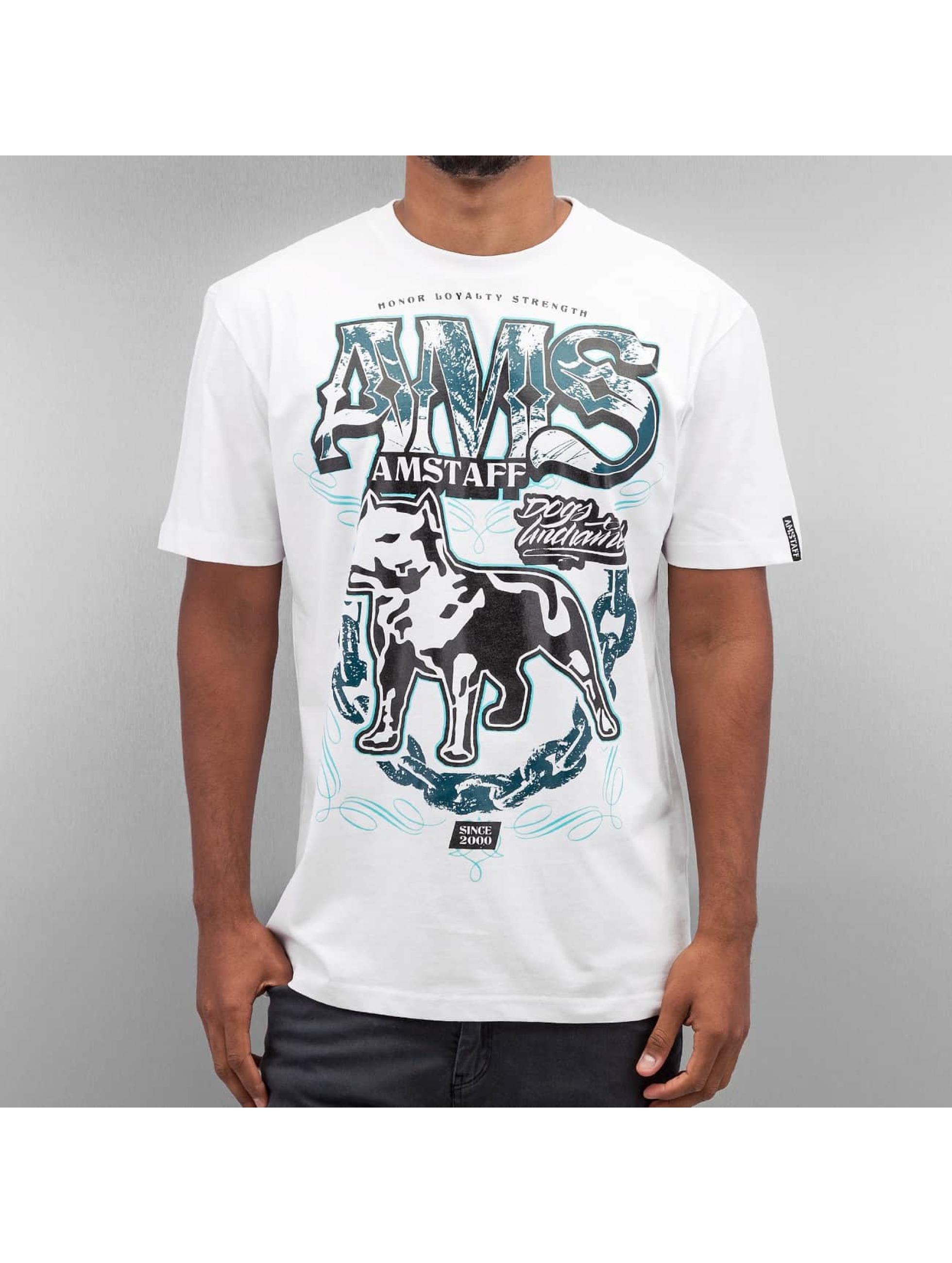 Amstaff T-skjorter Daban hvit