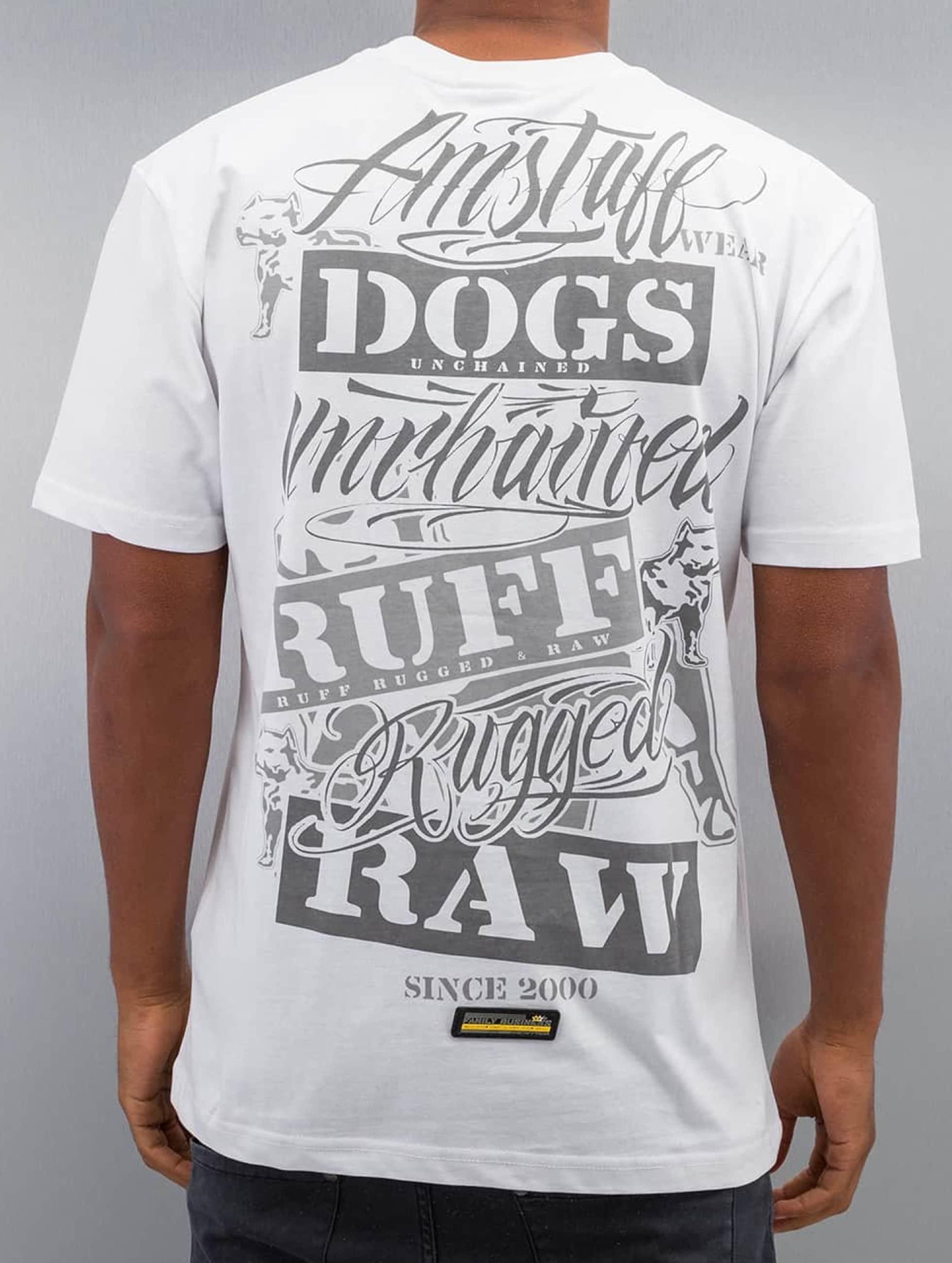 Amstaff T-skjorter Mero hvit