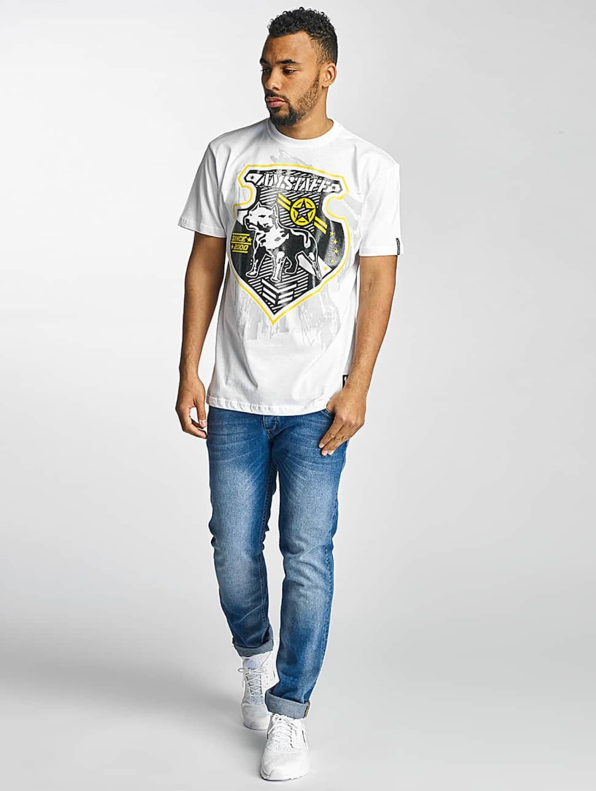 Amstaff T-skjorter Razar hvit