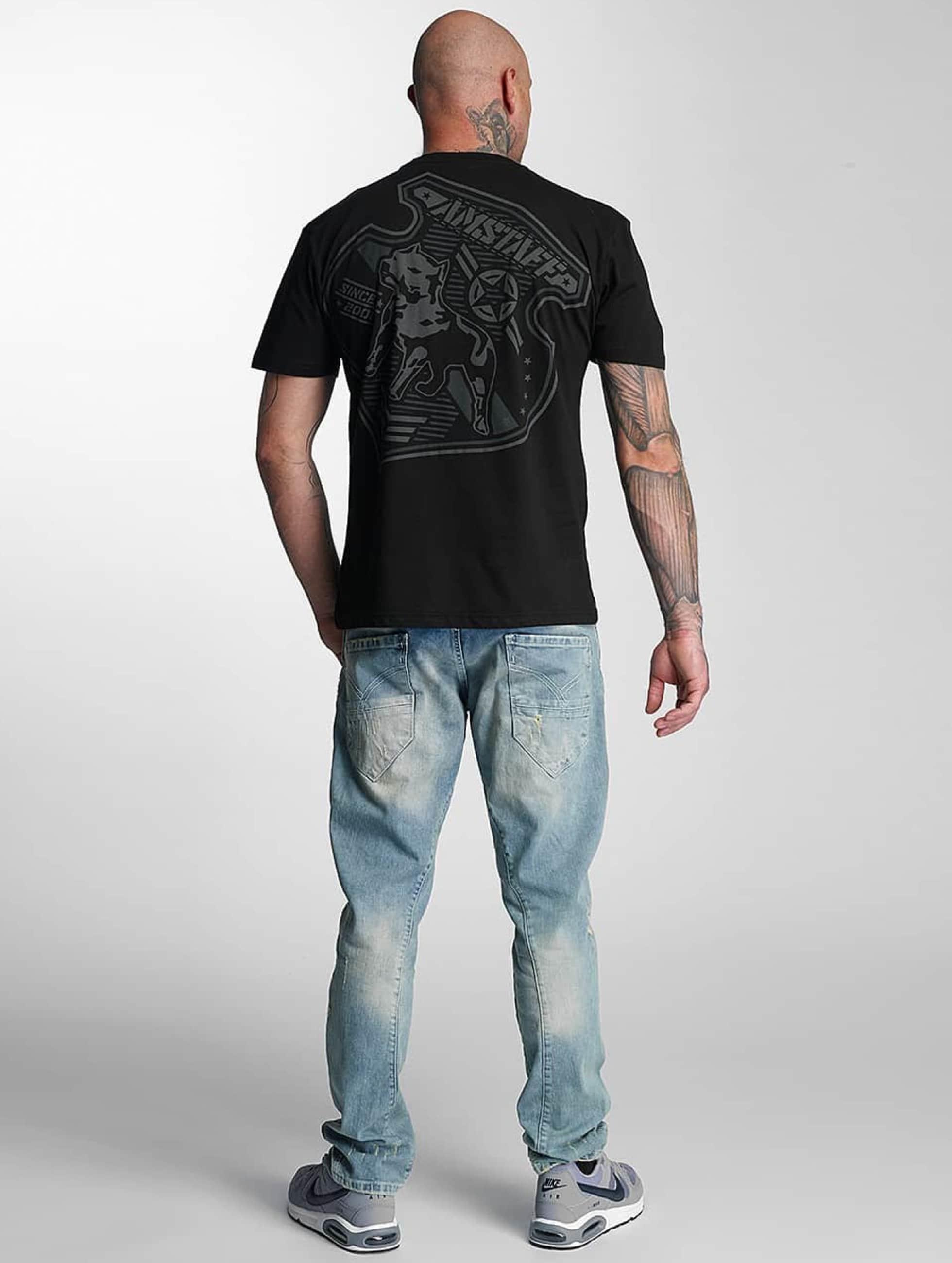 Amstaff T-skjorter Razar svart