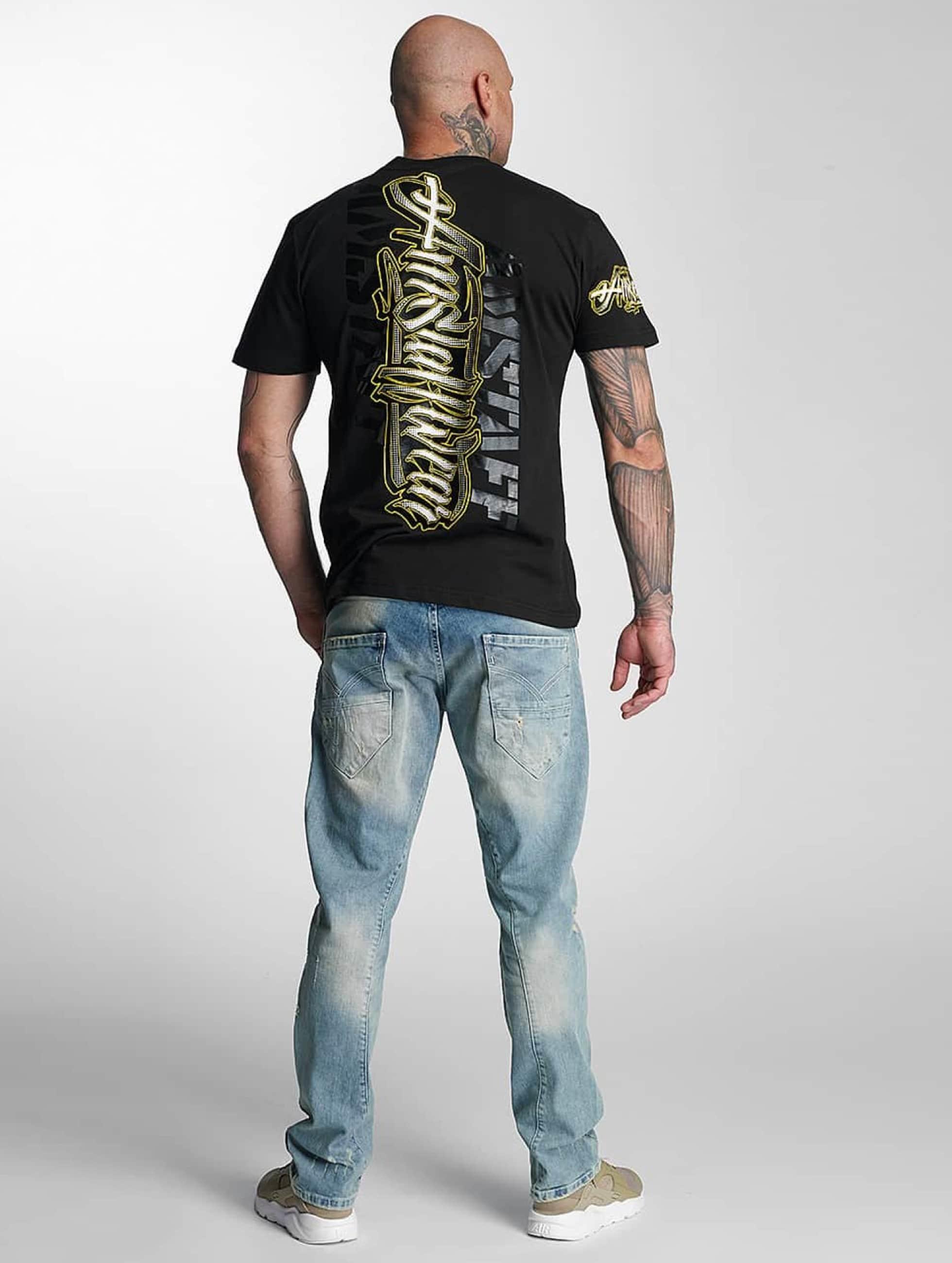Amstaff T-skjorter Neto svart