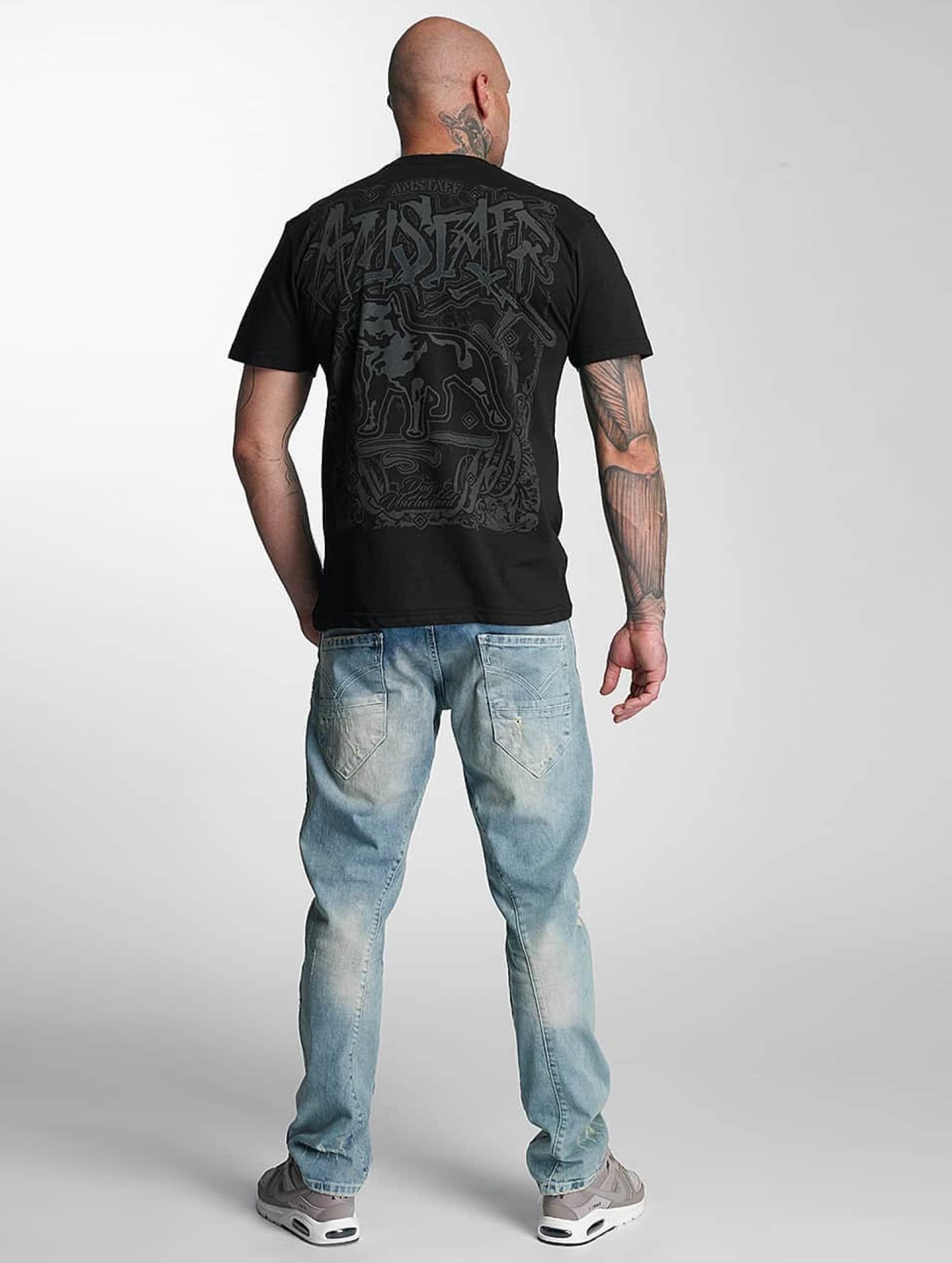 Amstaff T-skjorter Bakur svart