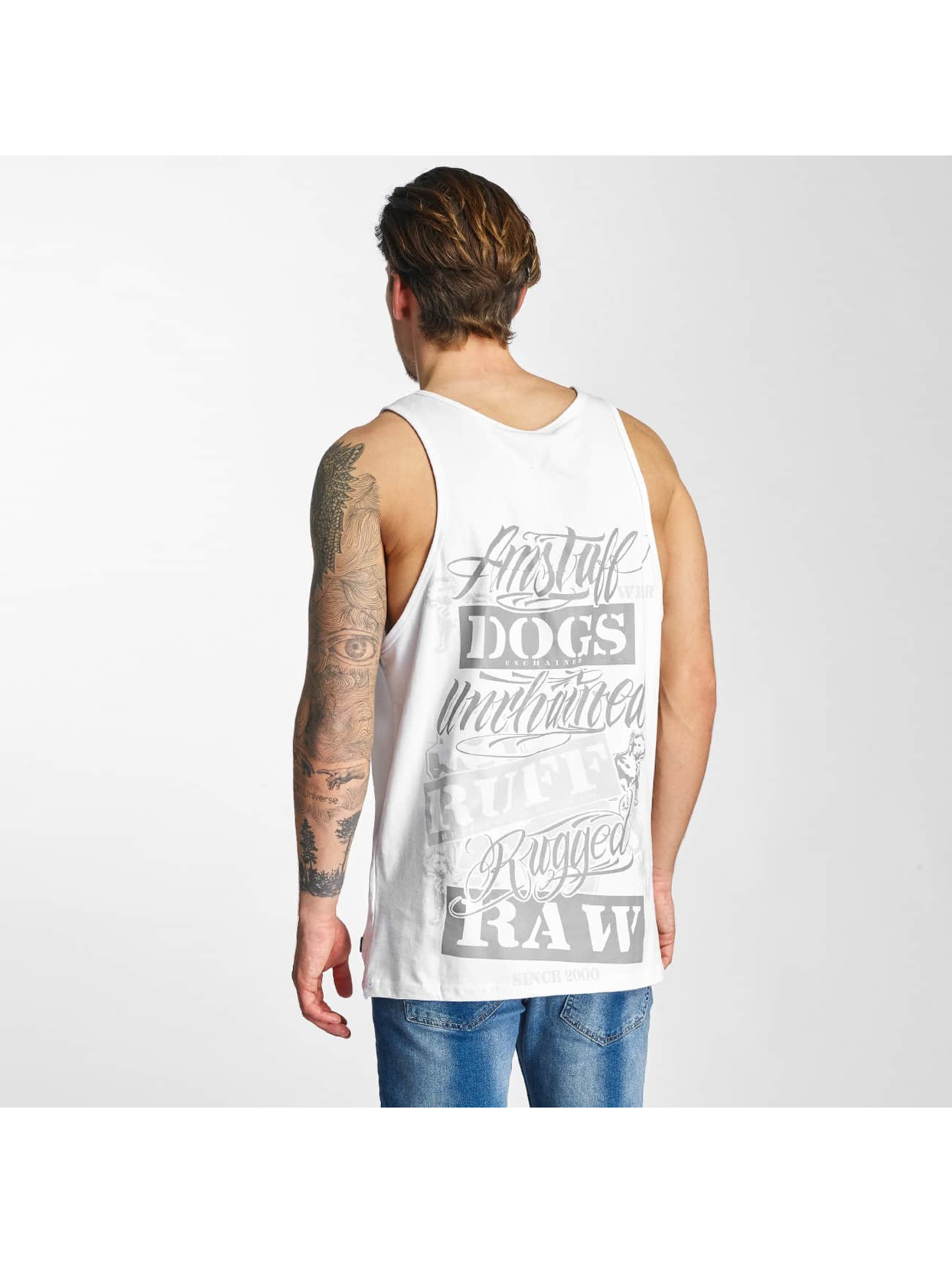 Amstaff Tank Tops Mero bialy