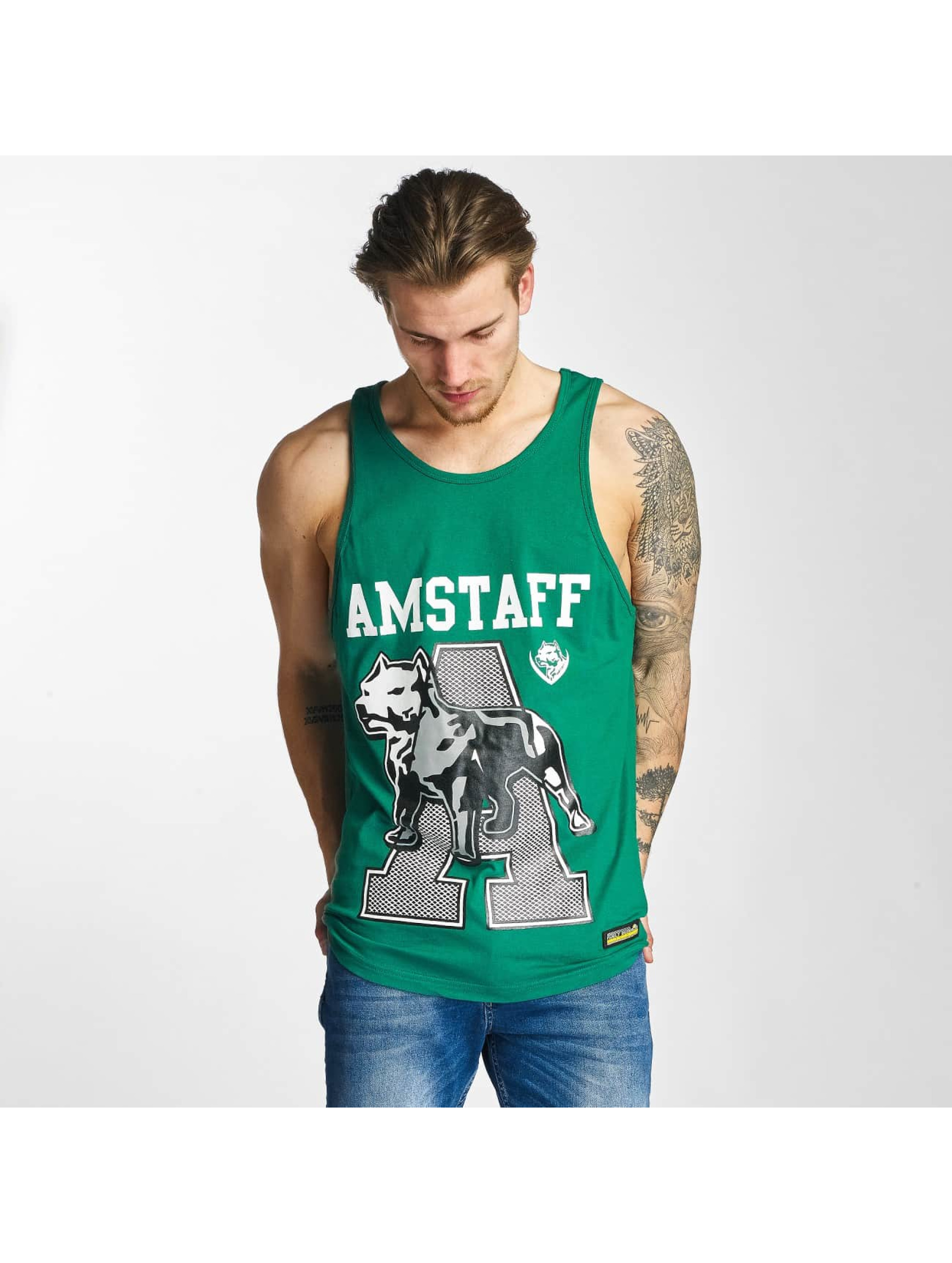 Amstaff Tank Tops Alador green
